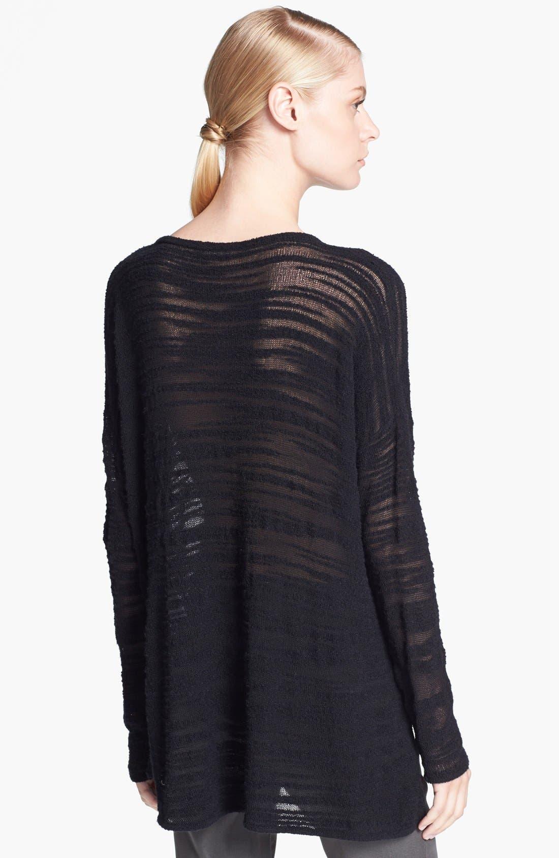 Alternate Image 2  - HELMUT Helmut Lang Destroyed Bouclé Sweater