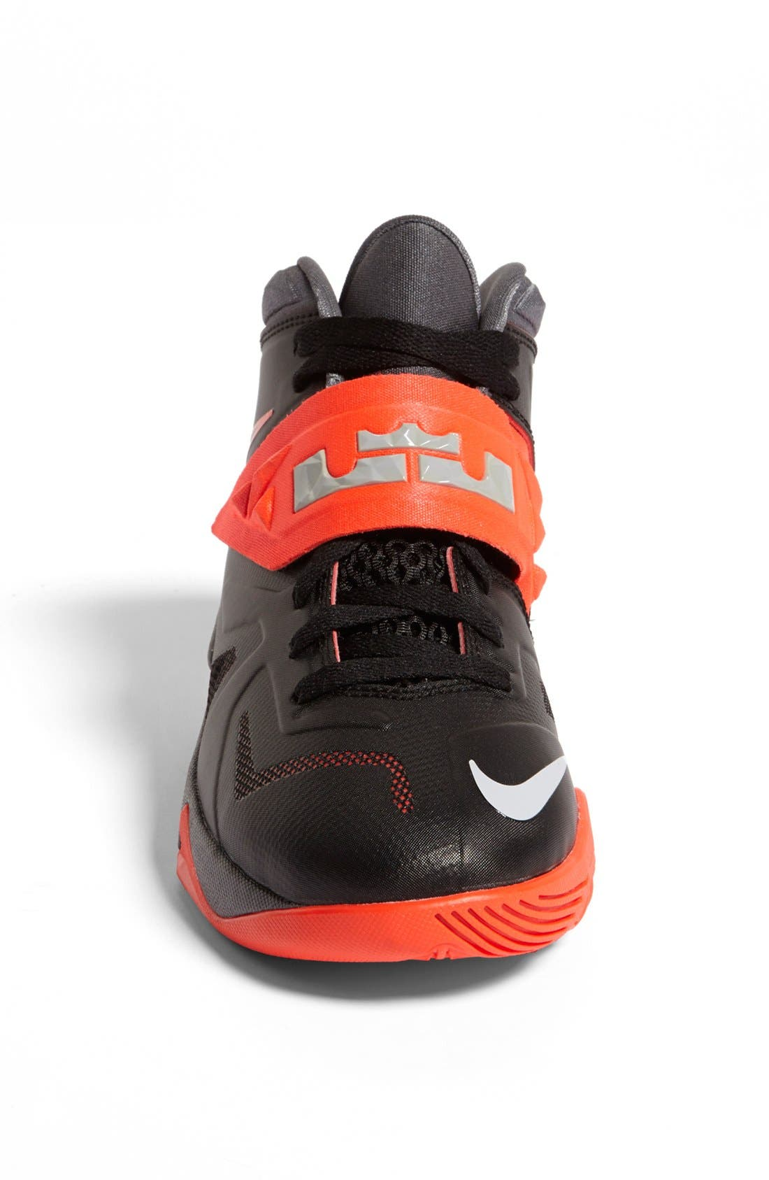Alternate Image 3  - Nike 'LeBron Zoom Soldier VII' Basketball Shoe (Big Kid)