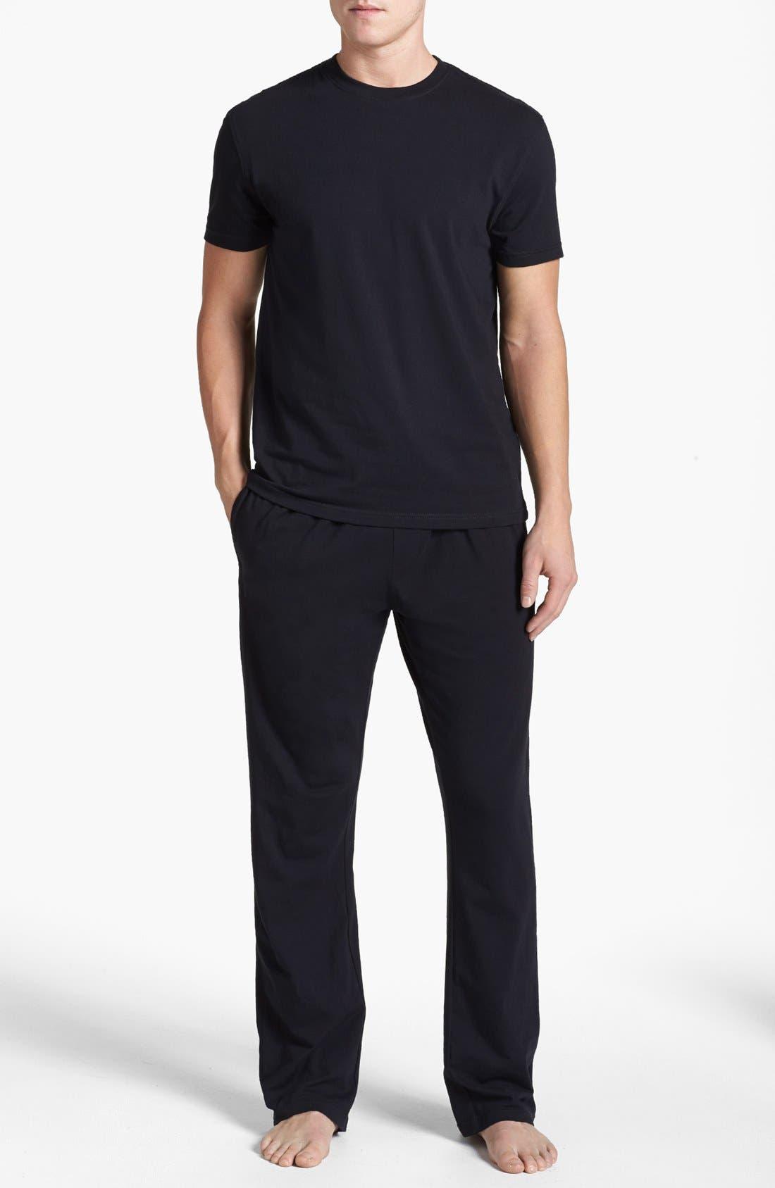 Alternate Image 1 Selected - Nordstrom Stretch Cotton Pajama Set