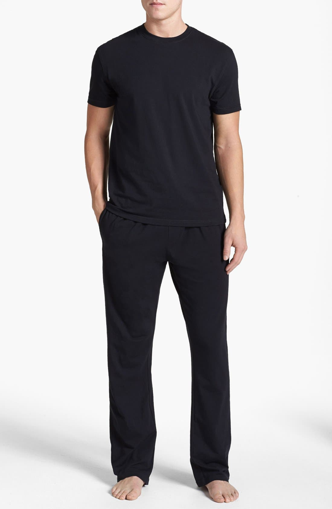 Main Image - Nordstrom Stretch Cotton Pajama Set