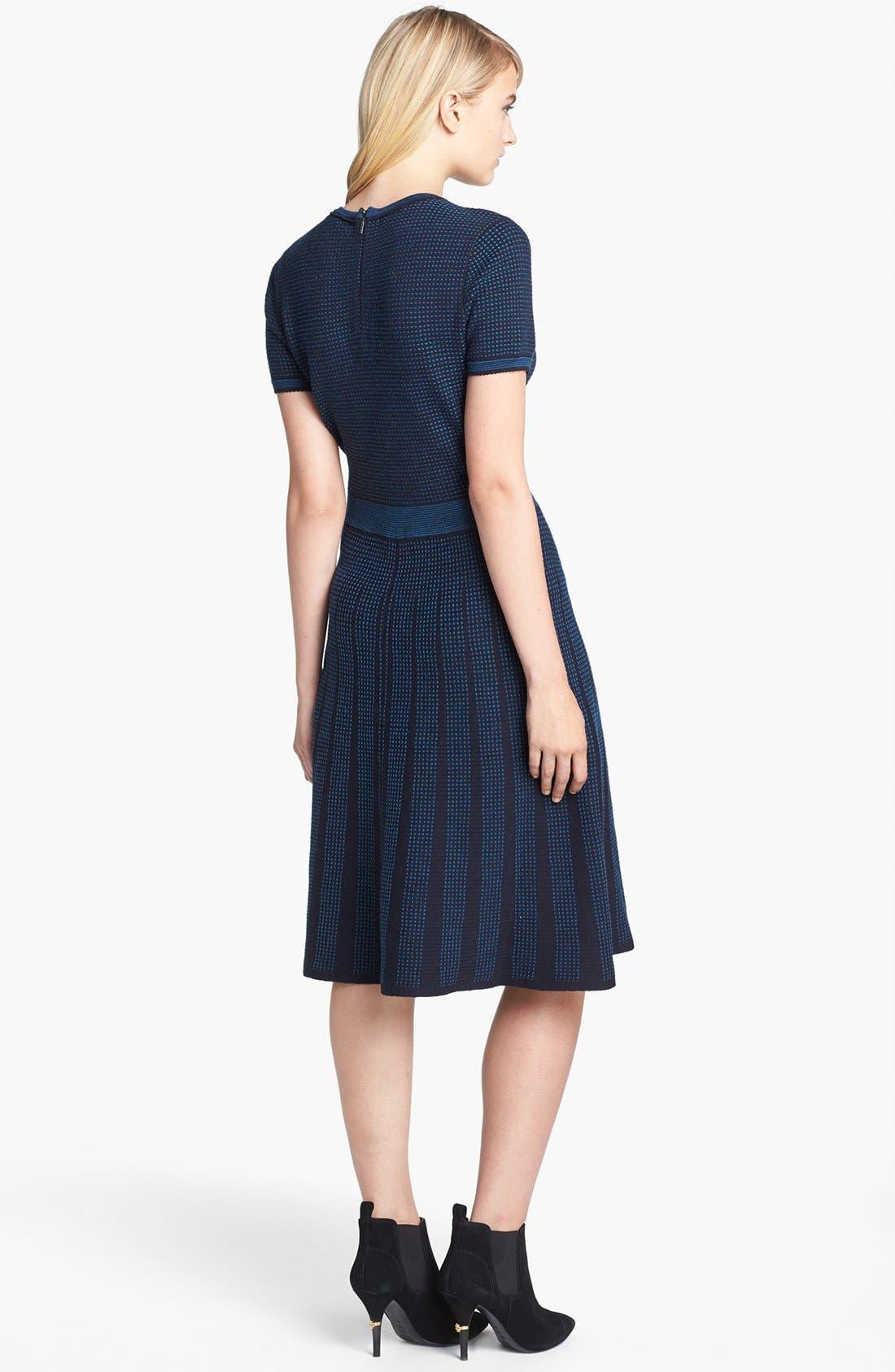 Alternate Image 2  - Tory Burch 'Sadie' Wool Blend A-Line Dress