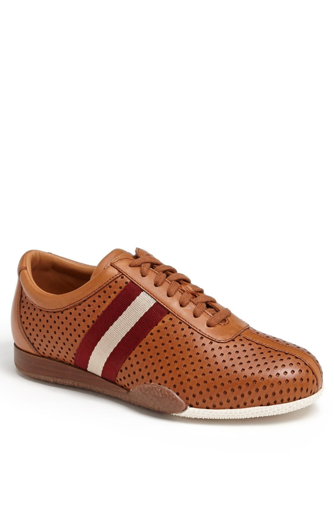 Alternate Image 1 Selected - Bally 'Freenew' Perforated Leather Sneaker