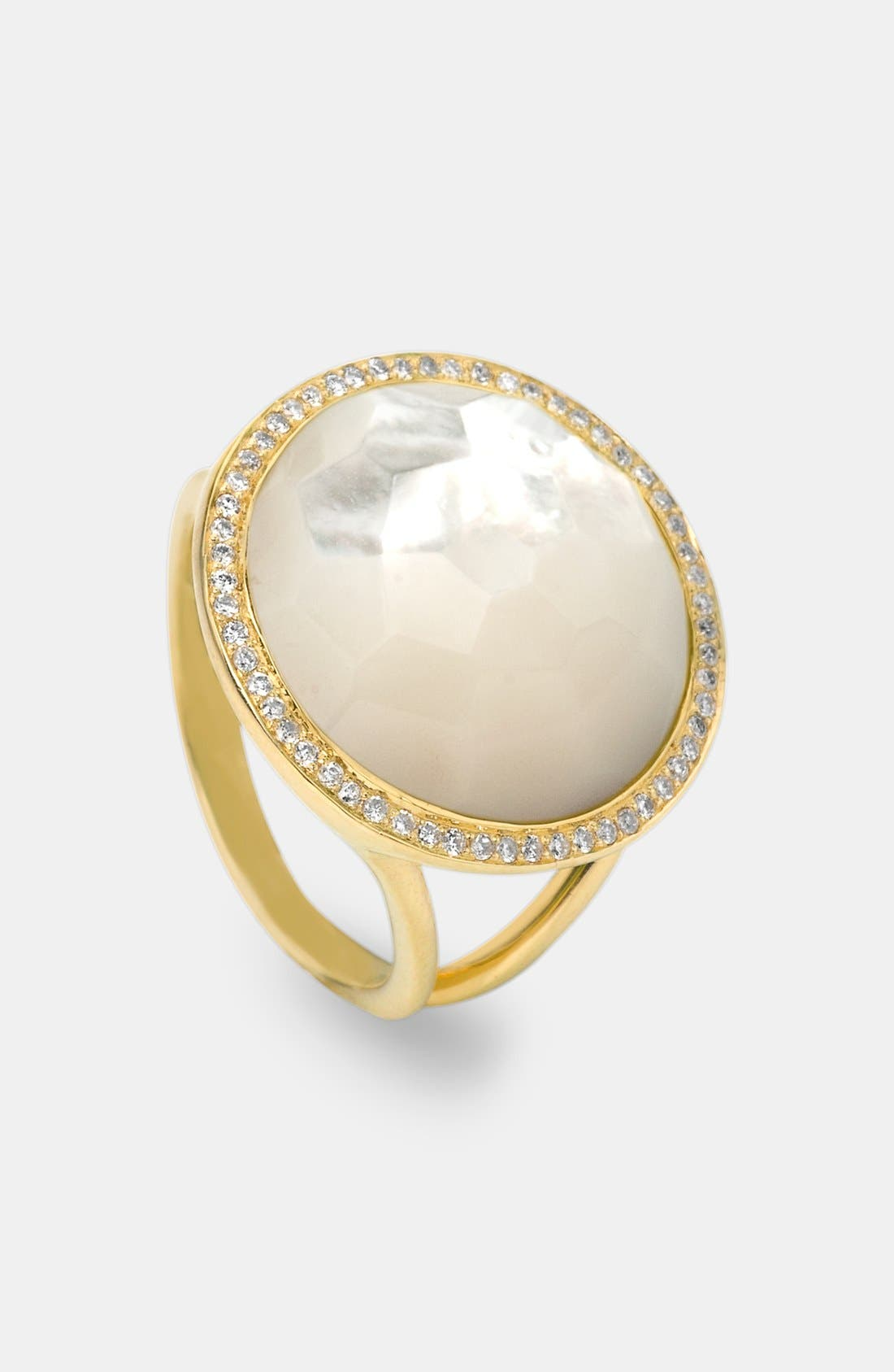 Alternate Image 1 Selected - Ippolita 'Rock Candy - Lollipop' 18k Gold Ring