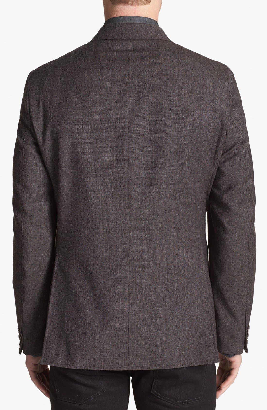 Alternate Image 2  - Vince Camuto Slim Fit Wool Sportcoat