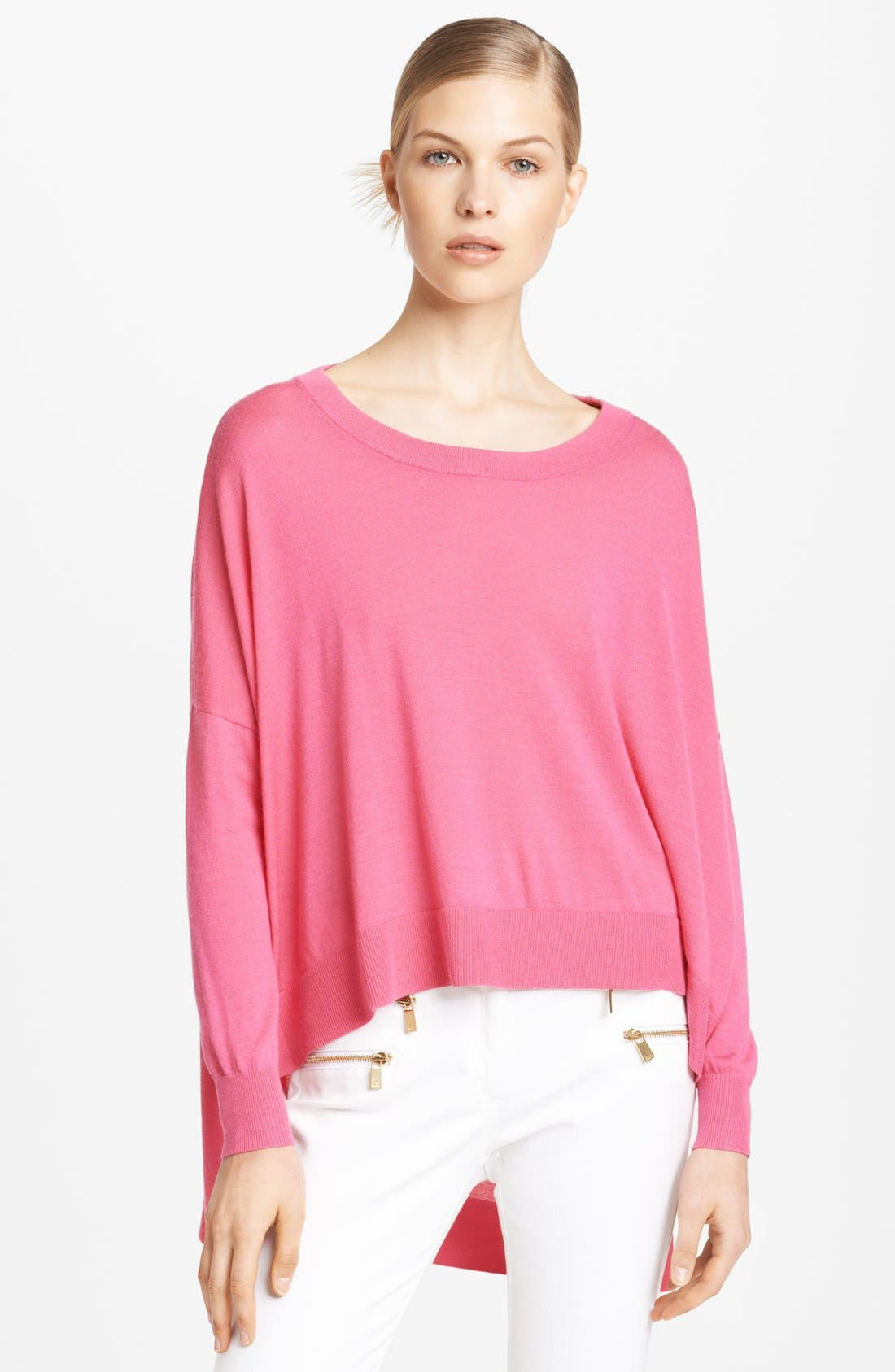 Alternate Image 1 Selected - Michael Kors High/Low Sweater