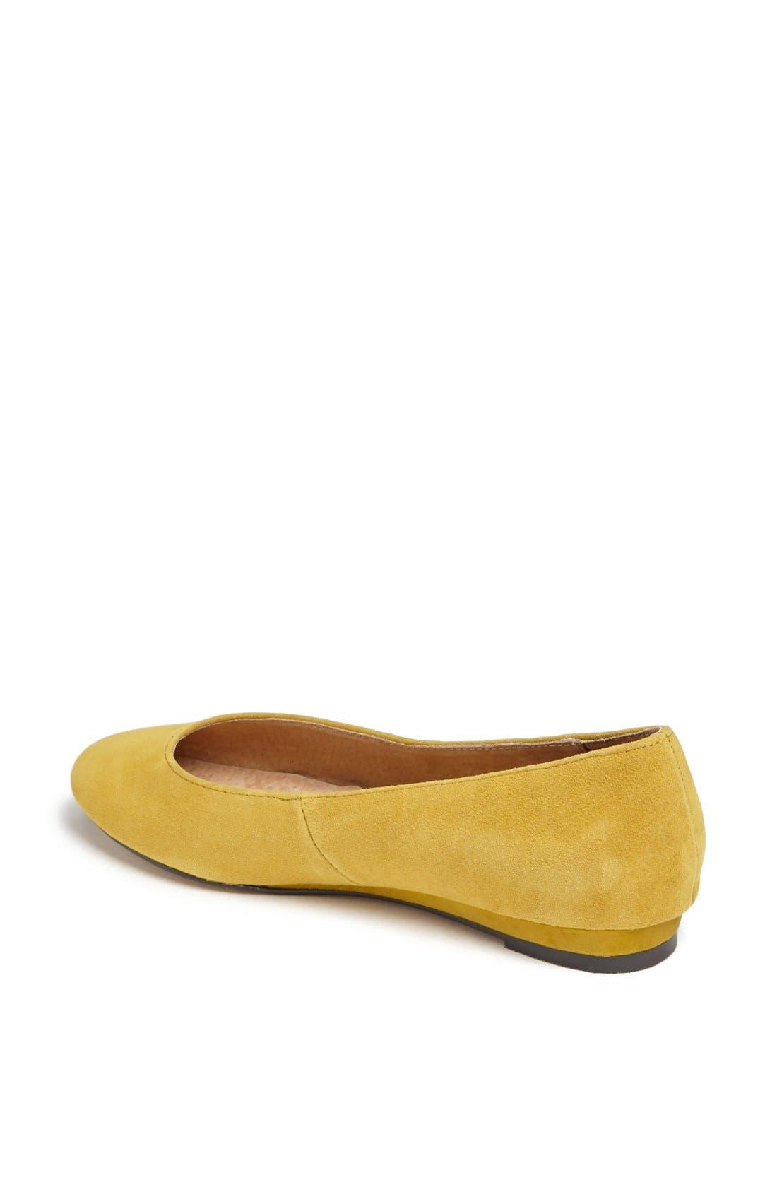 'Mello Mini Wedge' Court Shoe,                             Alternate thumbnail 2, color,                             Mustard