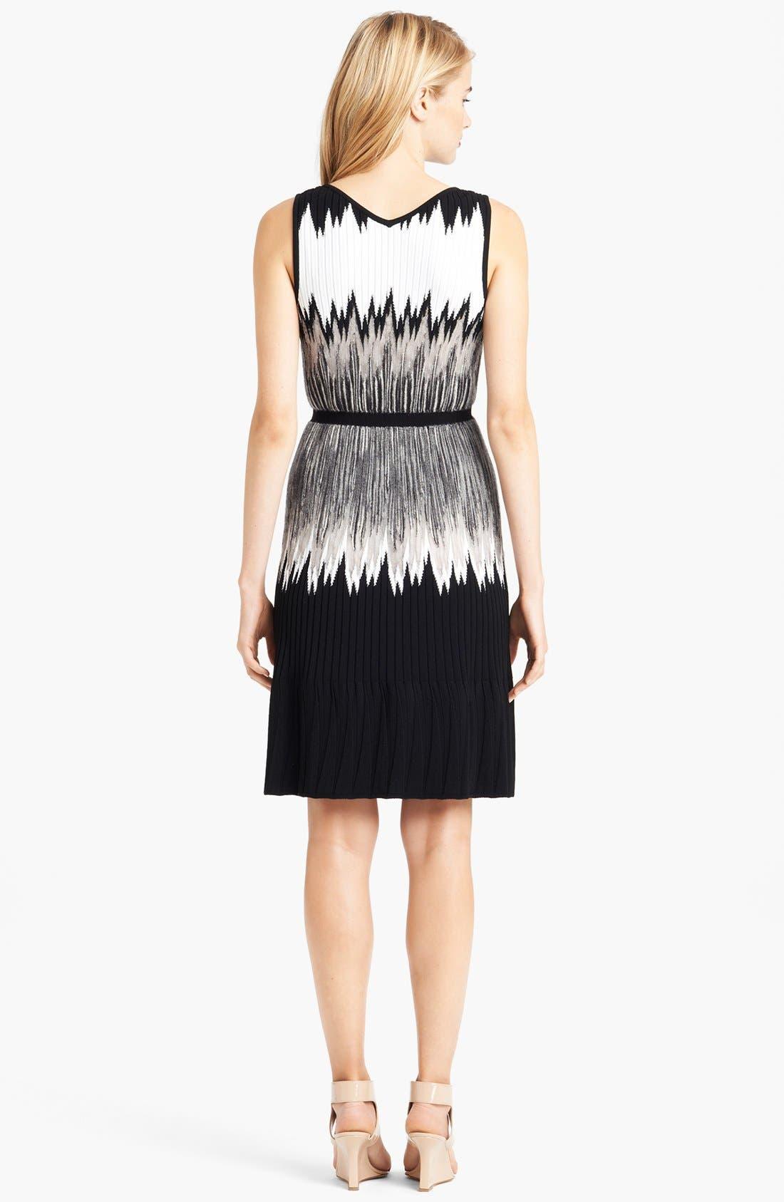 Alternate Image 2  - Missoni Intarsia Knit Plissé Dress