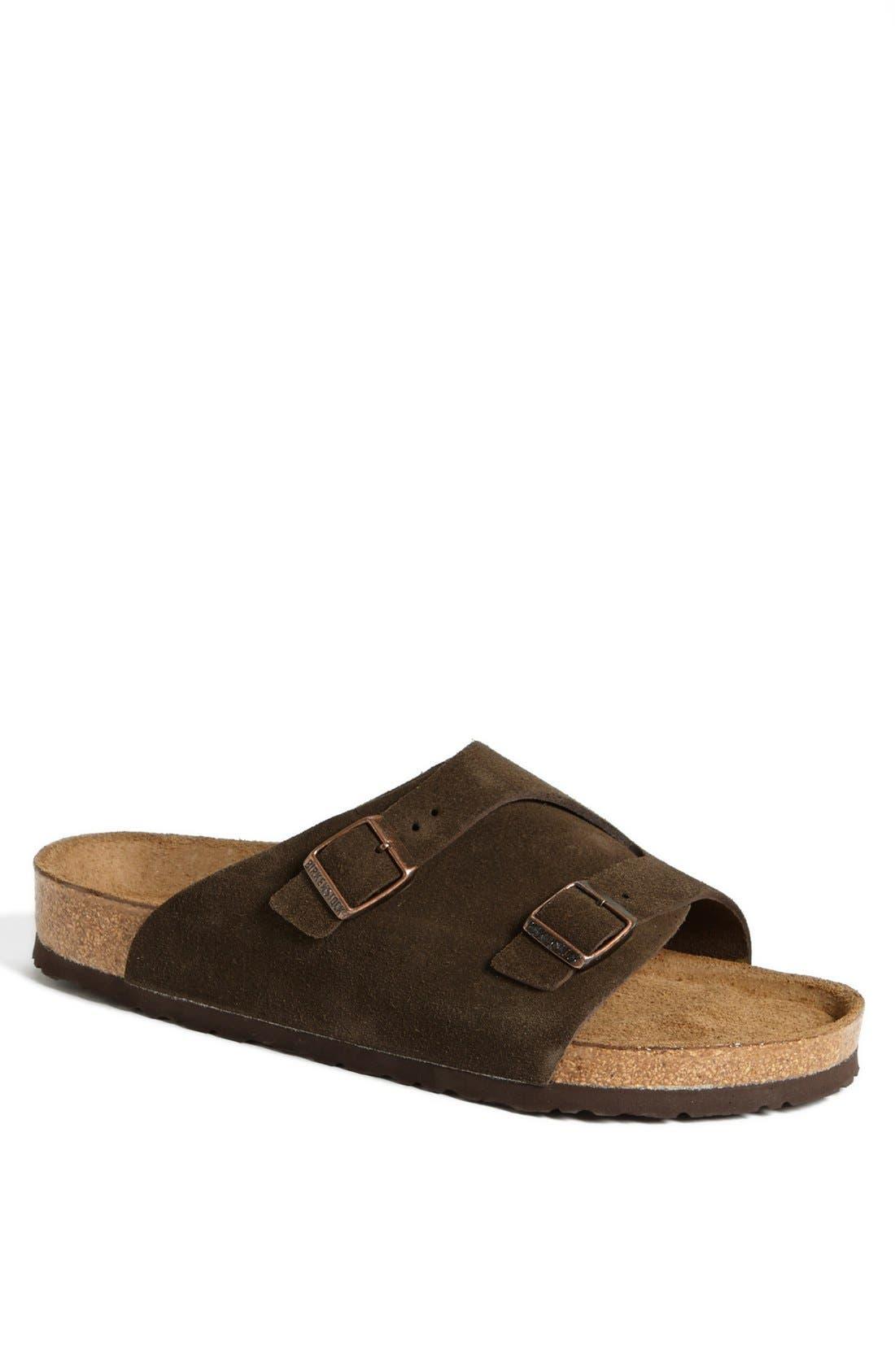 Alternate Image 1 Selected - Birkenstock 'Zürich Soft' Sandal (Men)