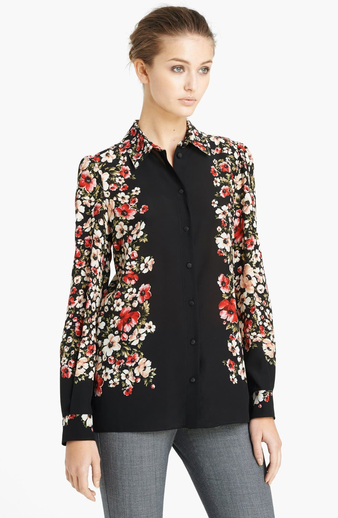 Main Image - Dolce&Gabbana Floral Print Blouse
