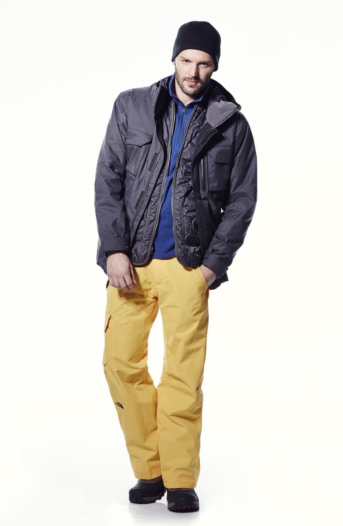Alternate Image 2  - The North Face 'TKA 100 Glacier' Polartec® Fine Stripe Fleece Pullover