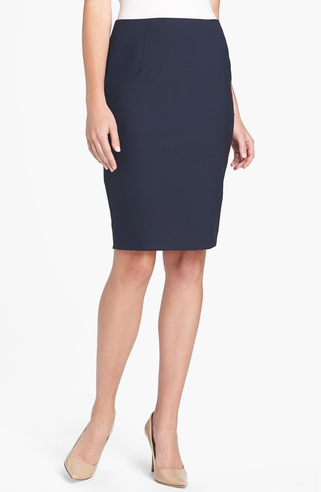 Alternate Image 1 Selected - BOSS 'Vilina1' Skirt