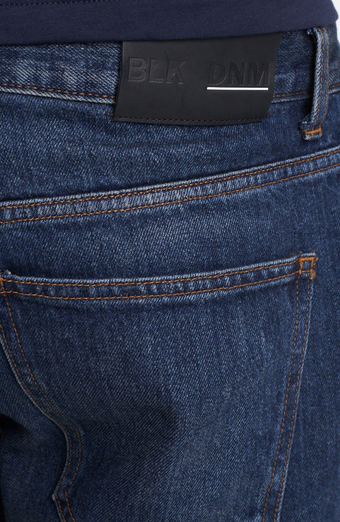 Alternate Image 4  - BLK DNM 'Jeans 9' Straight Leg Jeans (Duane Blue)