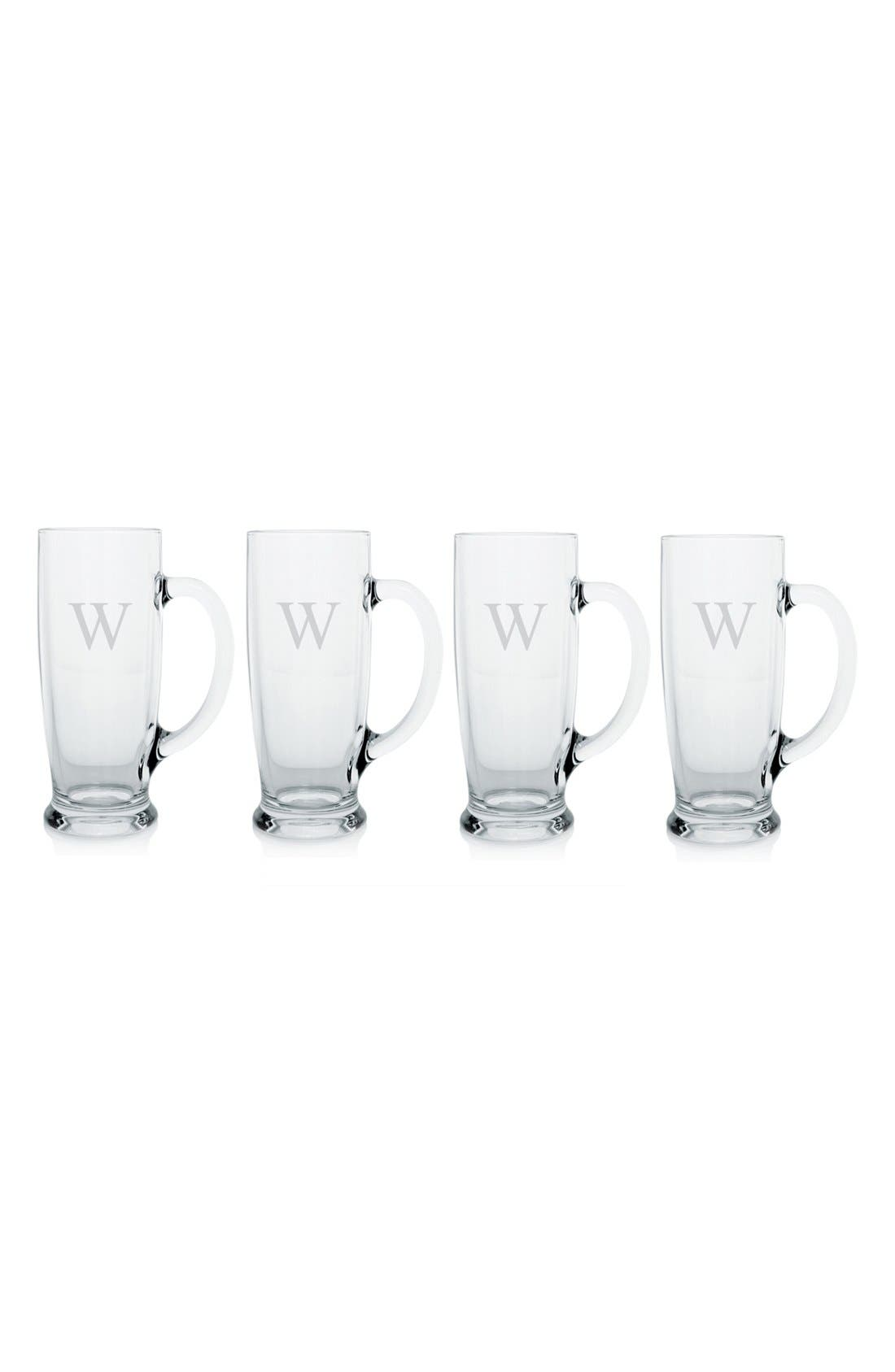 Alternate Image 2  - Cathy's Concepts Personalized Craft Beer Mugs (Set of 4)