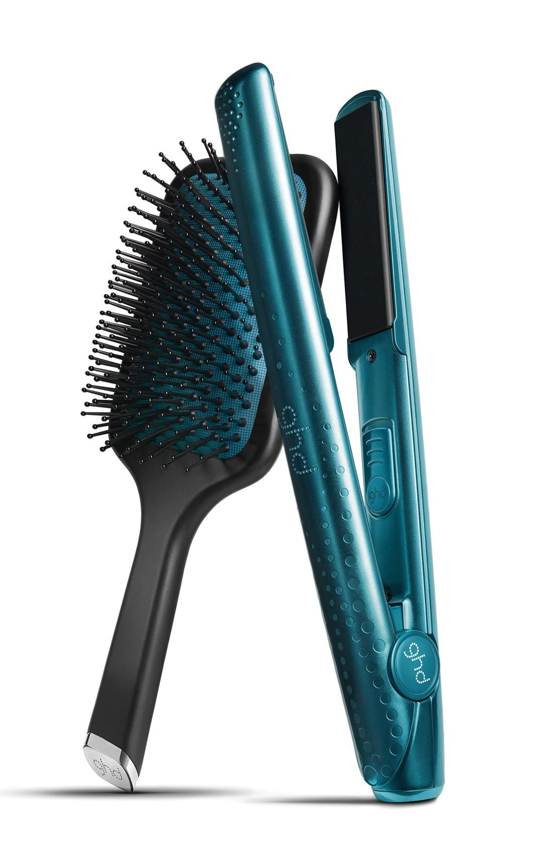 Main Image - ghd 'Jewel Collection - Sapphire' Styler & Hairbrush (Limited Edition) ($290 Value)