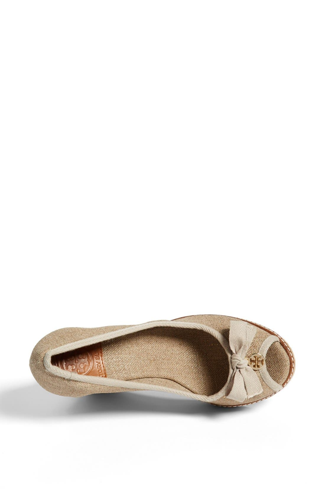Alternate Image 3  - Tory Burch 'Jackie' Espadrille Wedge