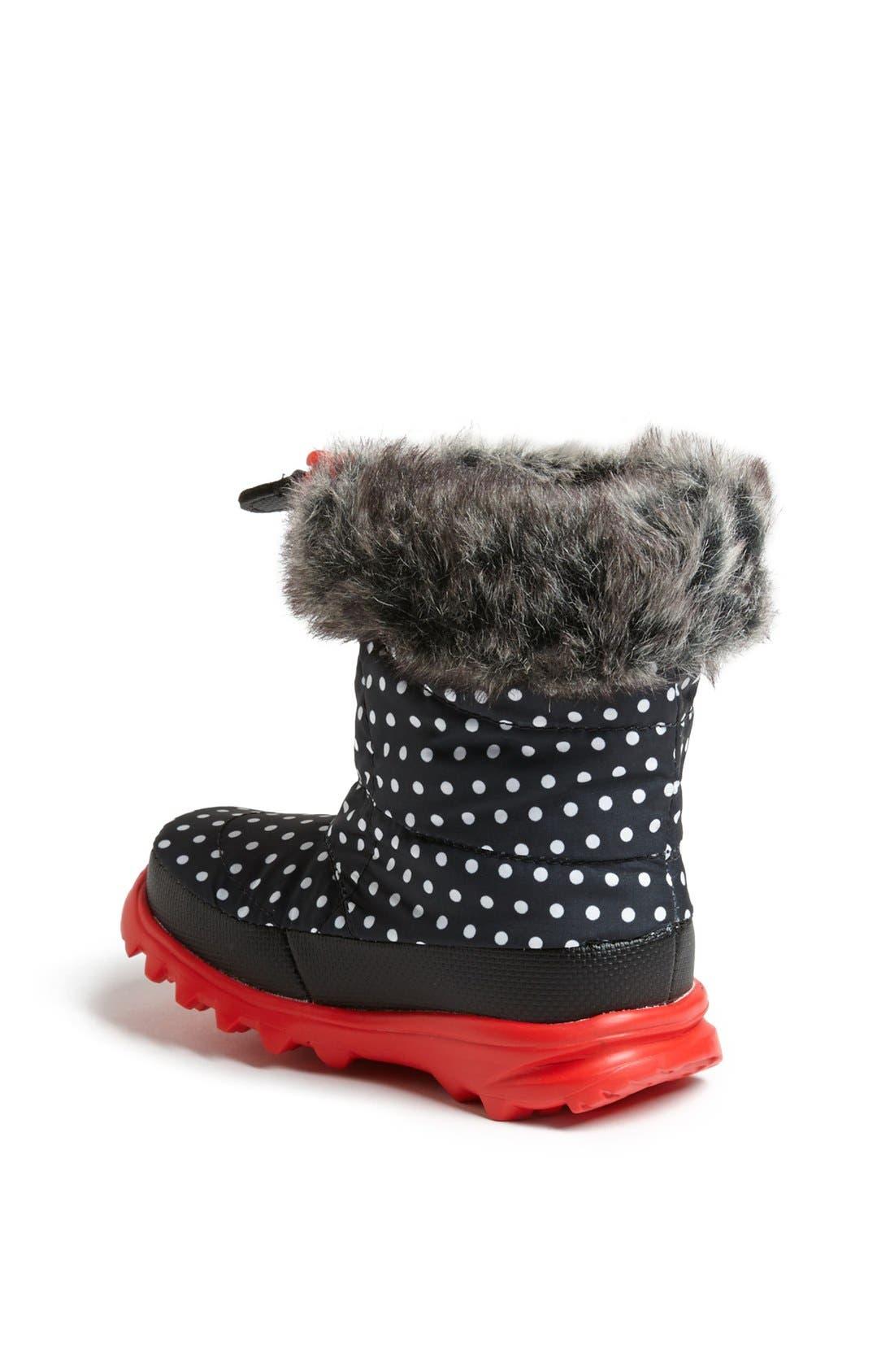 Alternate Image 2  - The North Face 'Nuptse Fur II' Winter Boot (Walker & Toddler)