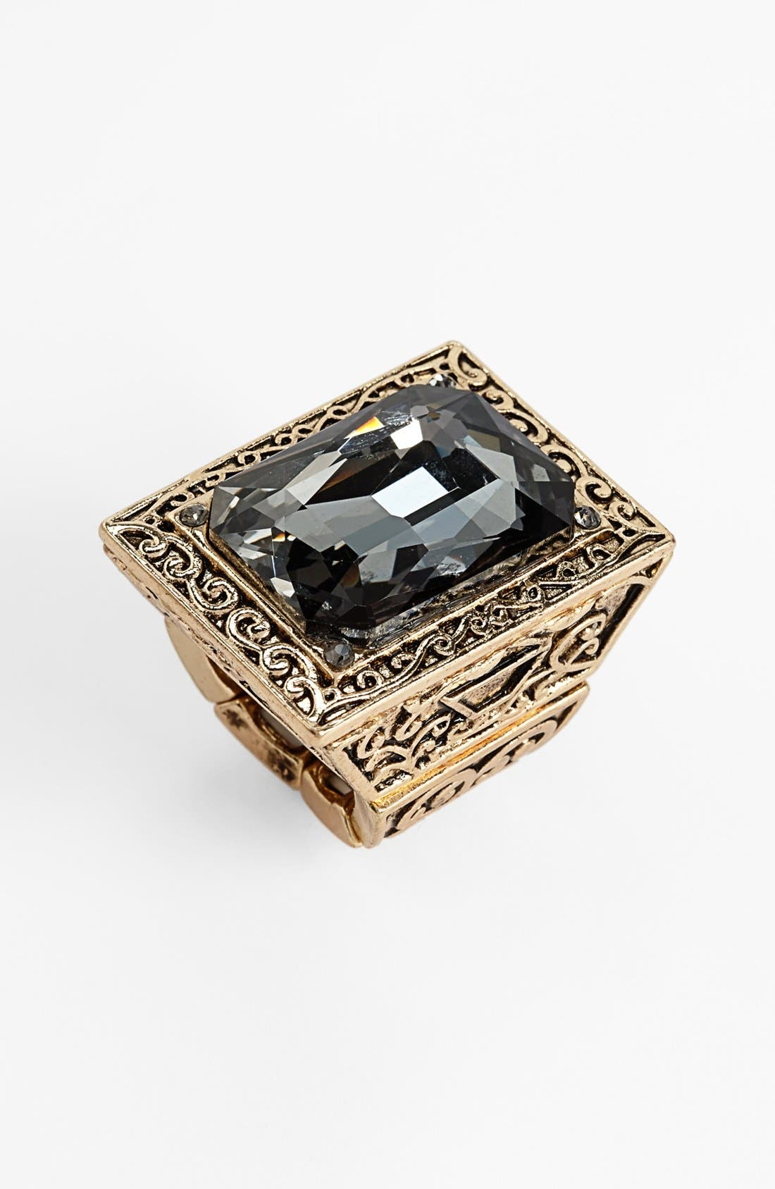 Alternate Image 1 Selected - Natasha Couture Square Statement Ring