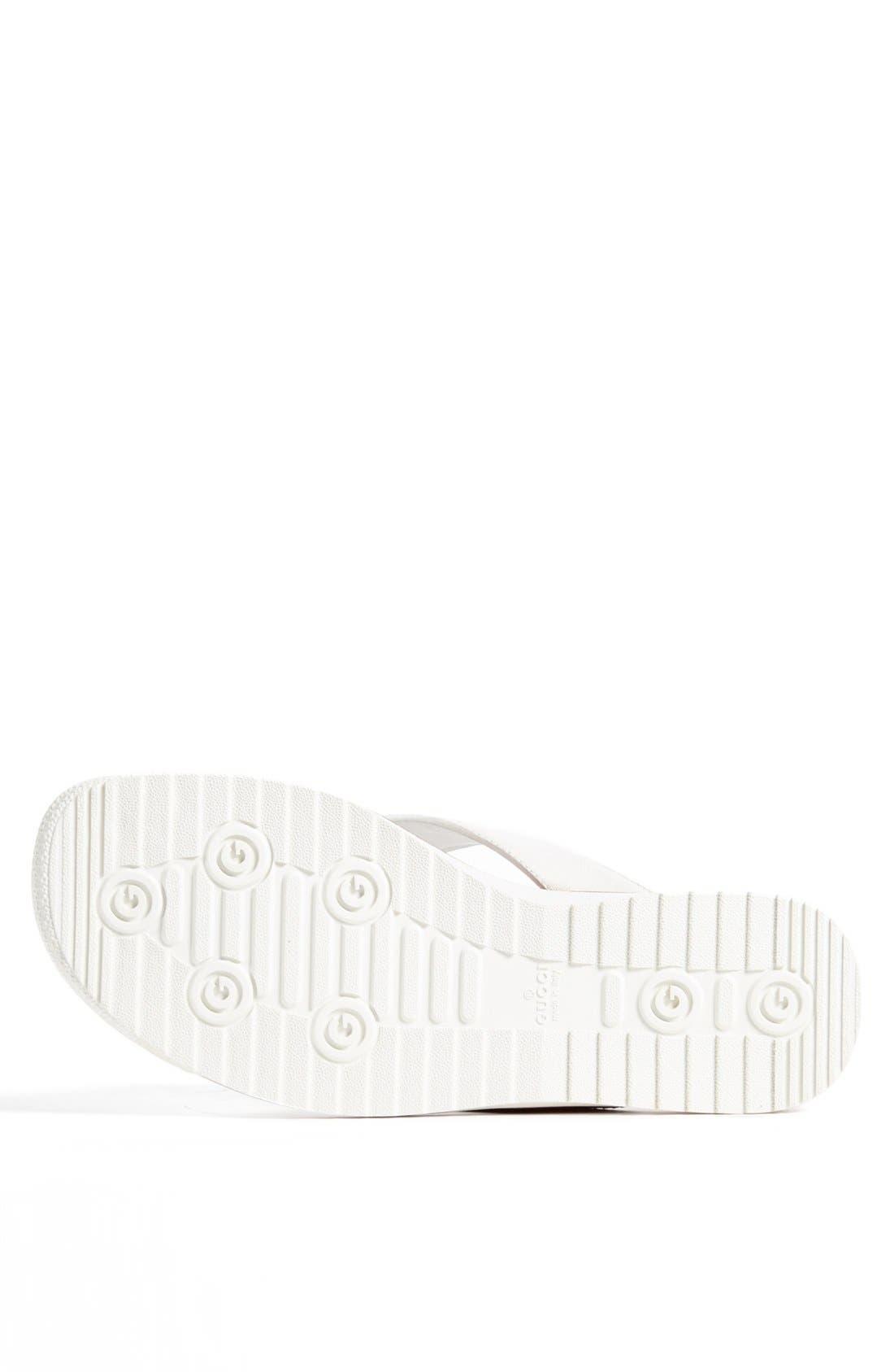 Alternate Image 4  - Gucci 'SL 73 Beach' Flip Flop