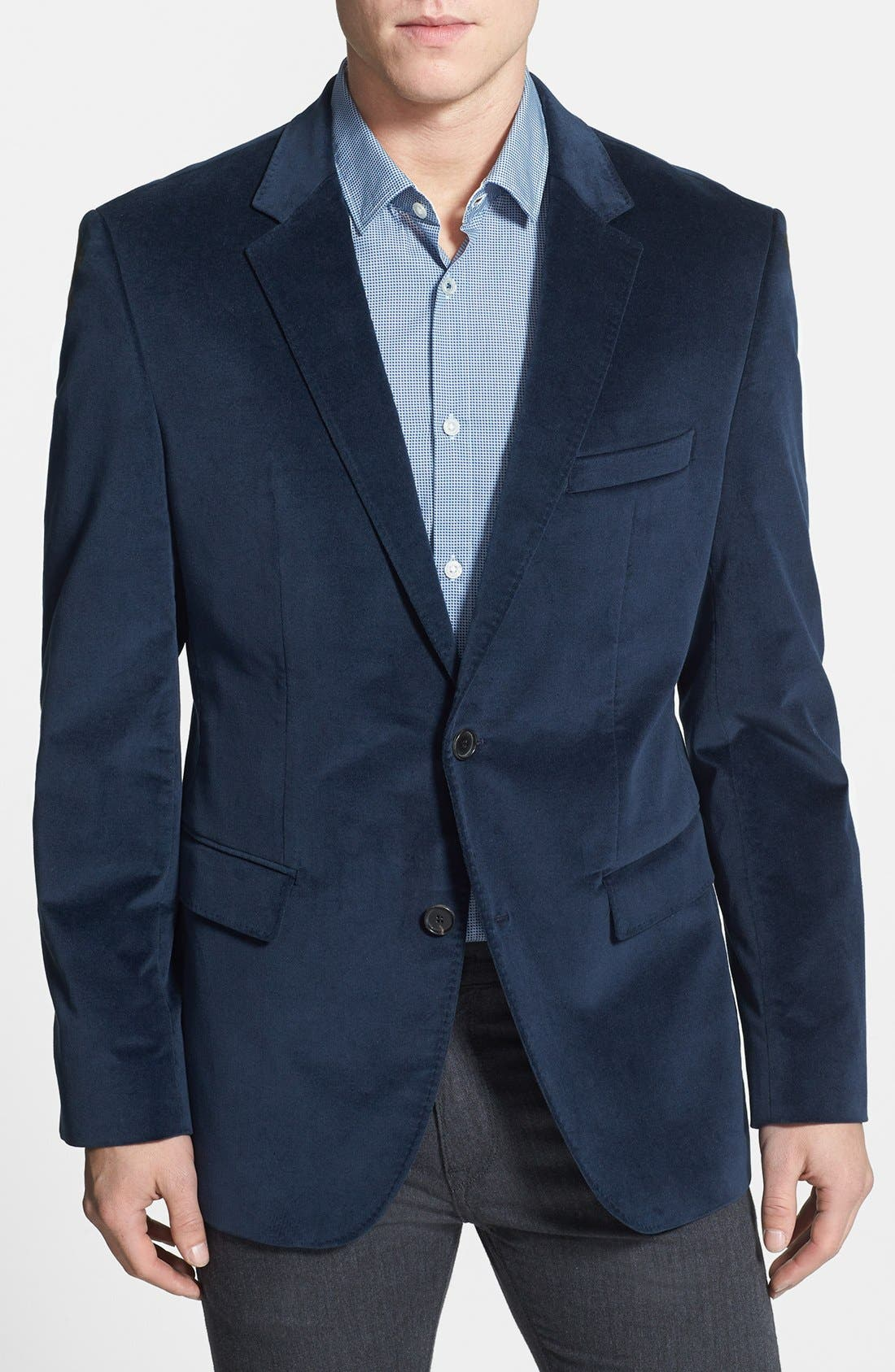 Main Image - BOSS HUGO BOSS 'The Coast Us' Stretch Cotton Sportcoat