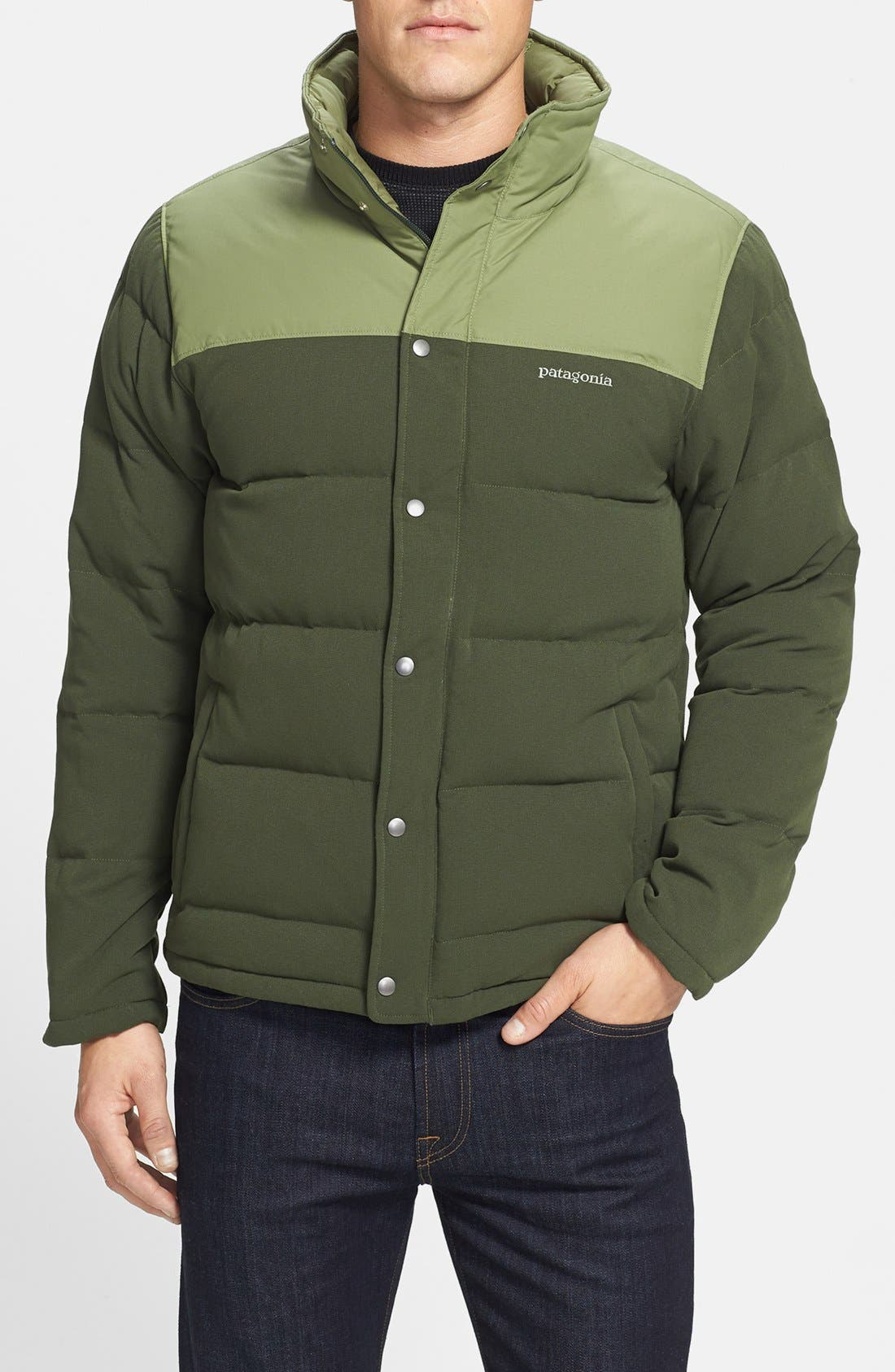 Alternate Image 1 Selected - Patagonia 'Bivy' Quilted Down Jacket