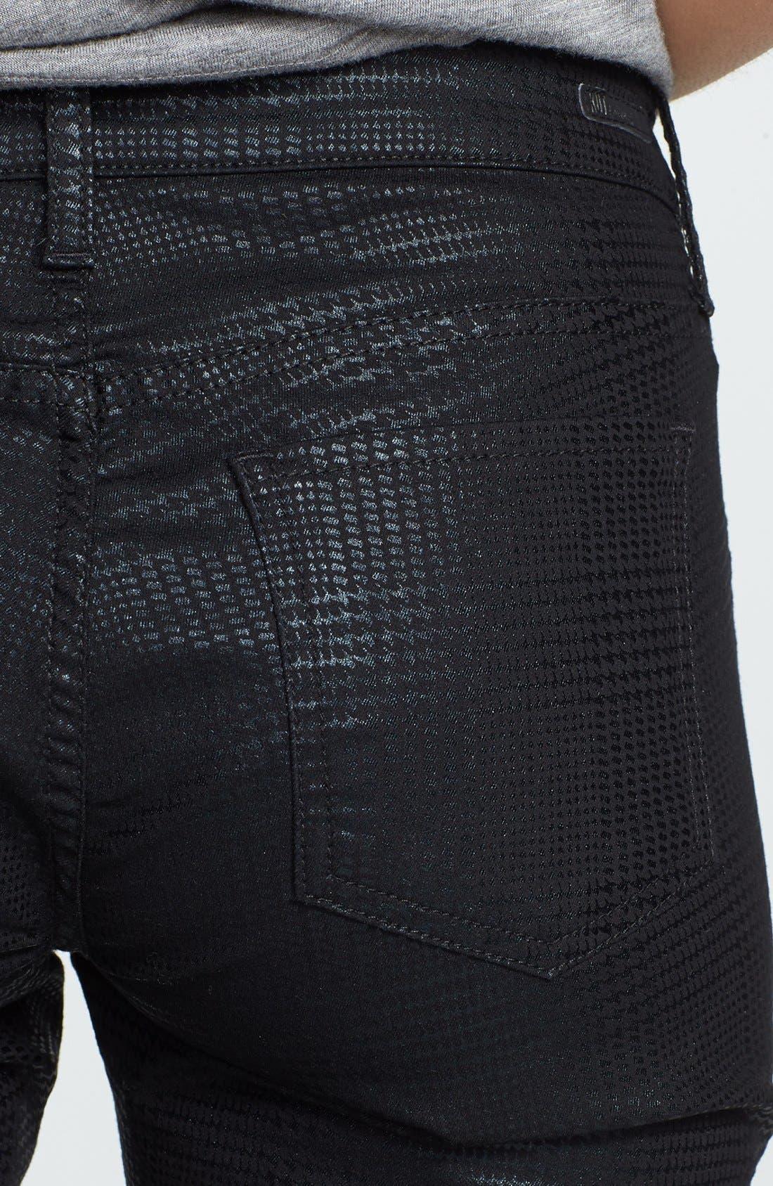 Alternate Image 3  - KUT from the Kloth 'Mia' Toothpick Skinny Jeans (Black)