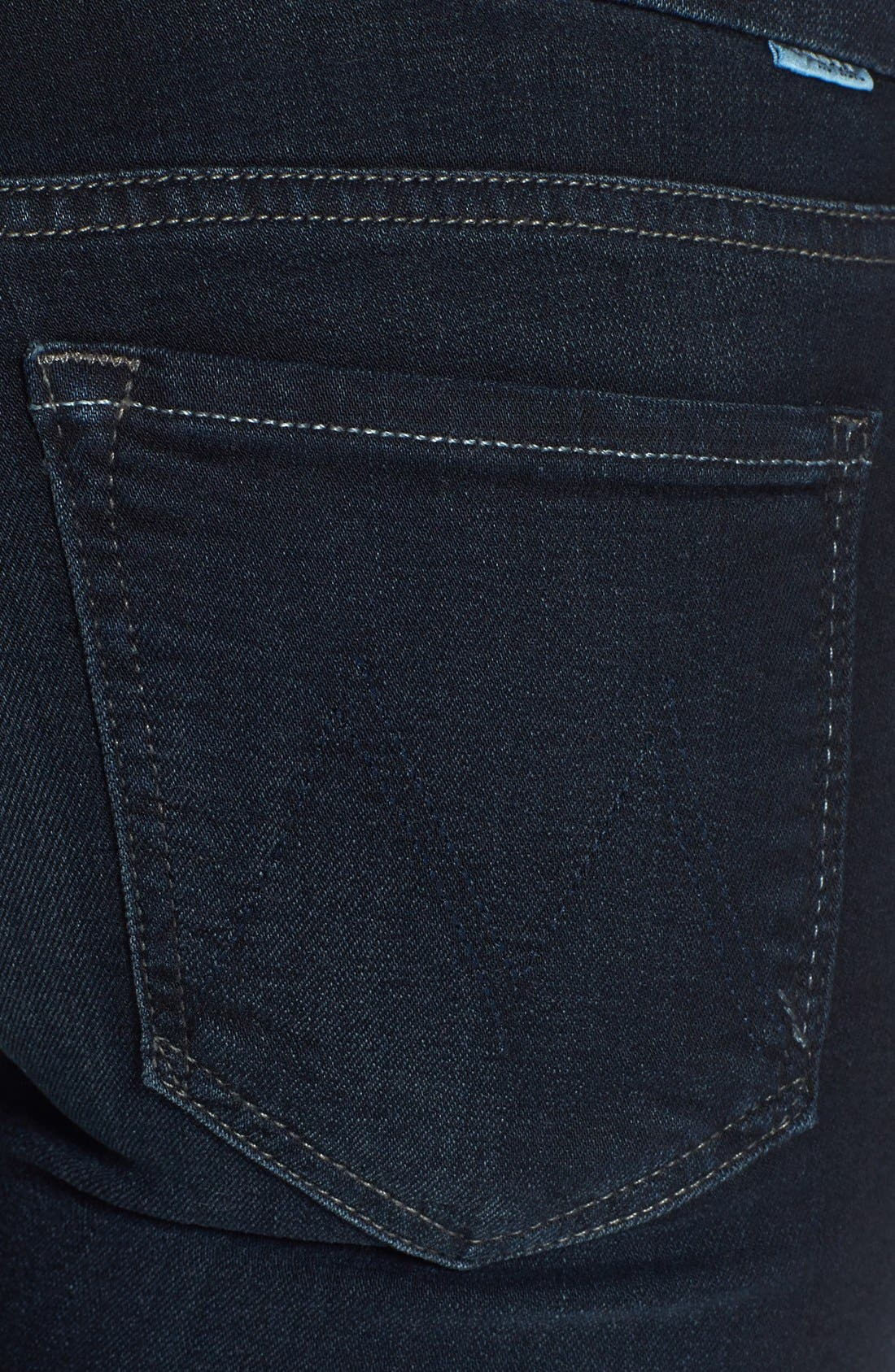 Alternate Image 3  - MOTHER 'The Looker' Stretch Skinny Jeans (Bittersweet)