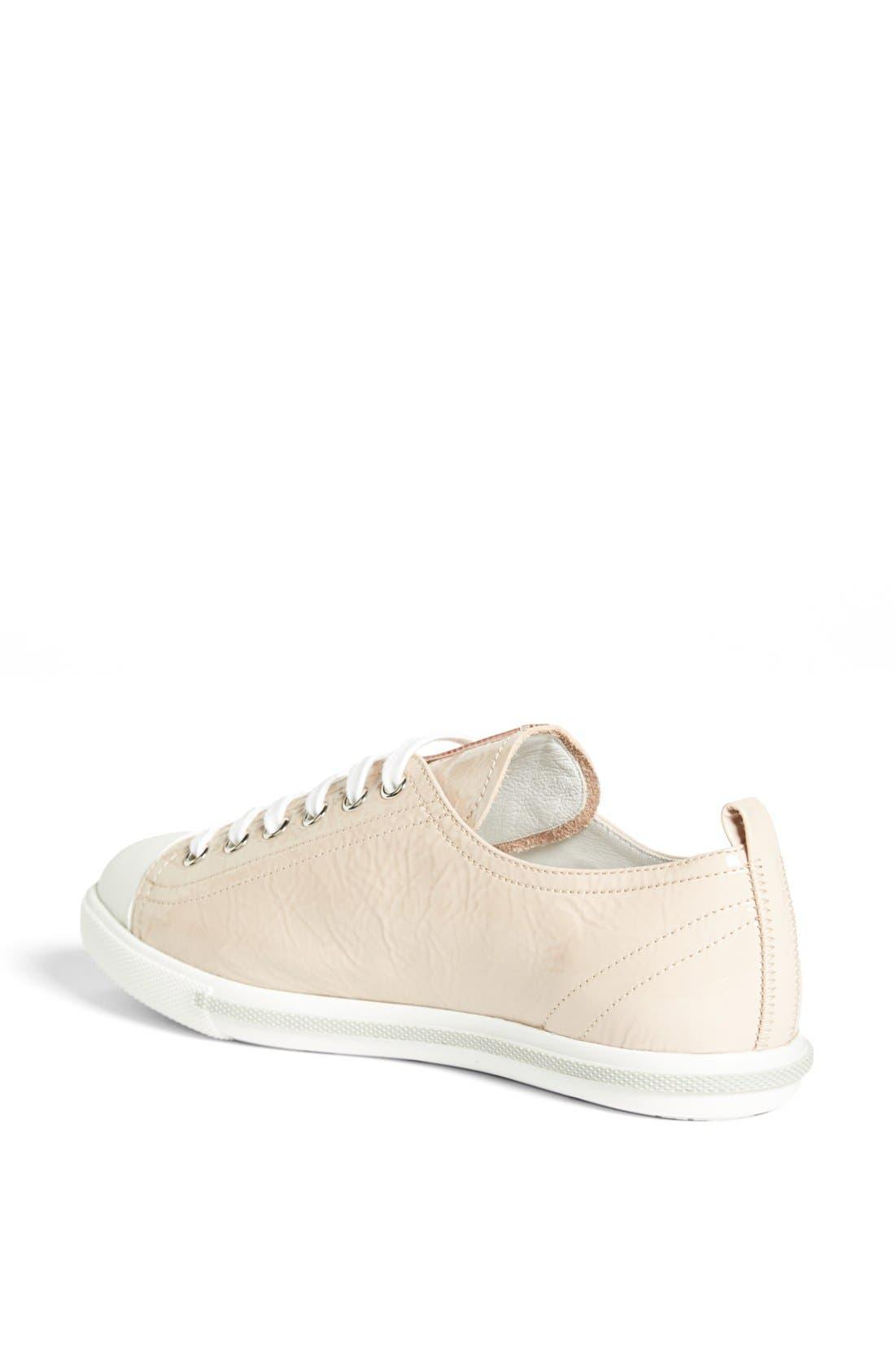 Alternate Image 2  - Prada Low Top Cap Toe Sneaker