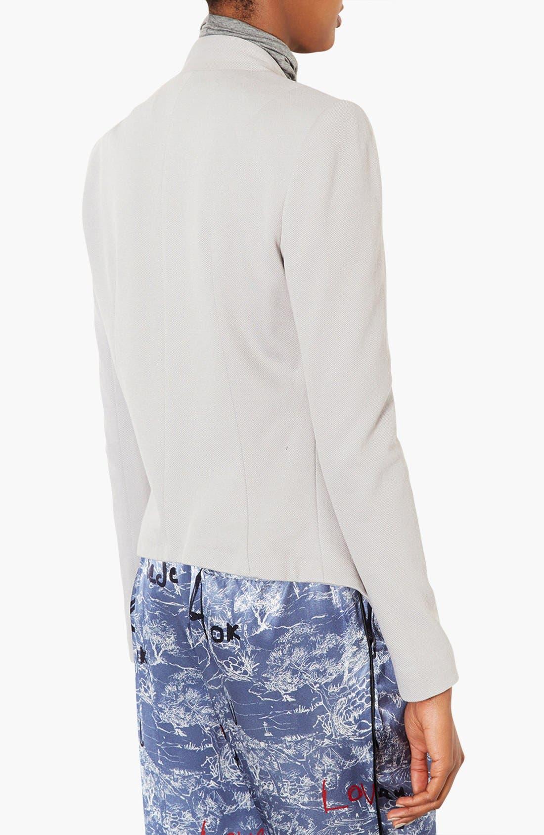 Alternate Image 2  - Topshop 'Darcy' Textured Blazer