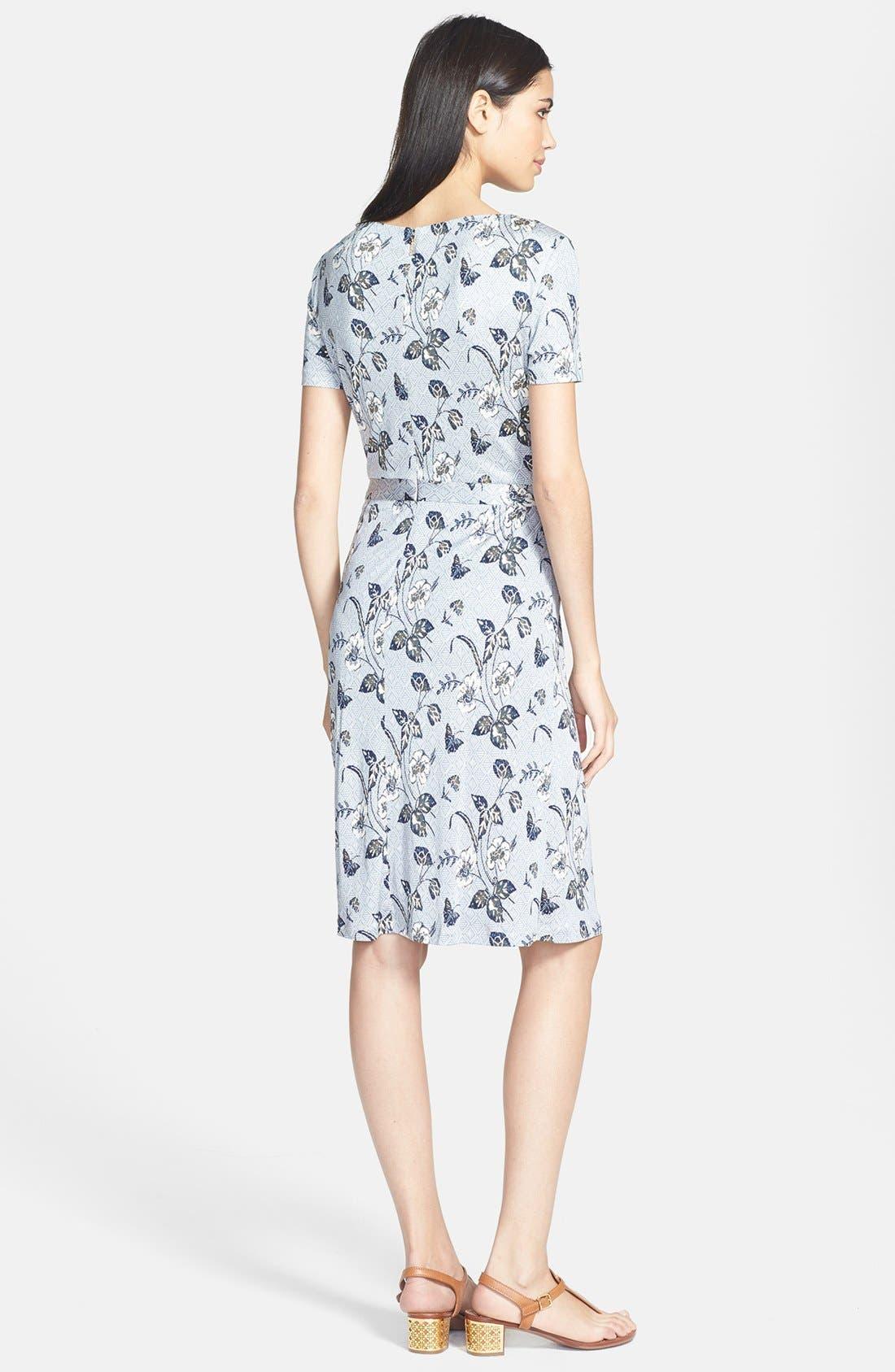 Alternate Image 2  - Tory Burch 'Edna' Silk A-Line Dress