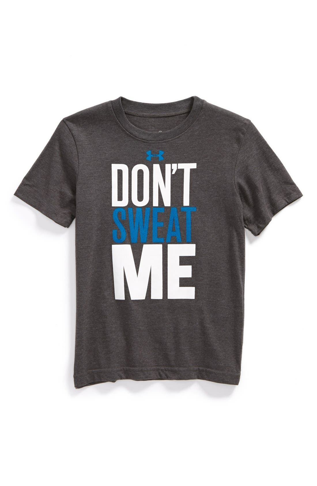 Alternate Image 1 Selected - Under Armour 'Don't Sweat Me' T-Shirt (Little Boys)