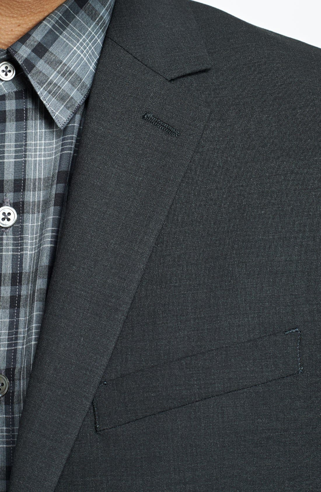Alternate Image 3  - Theory 'Wellar New Tailor' Trim Fit Wool Blend Sport Coat