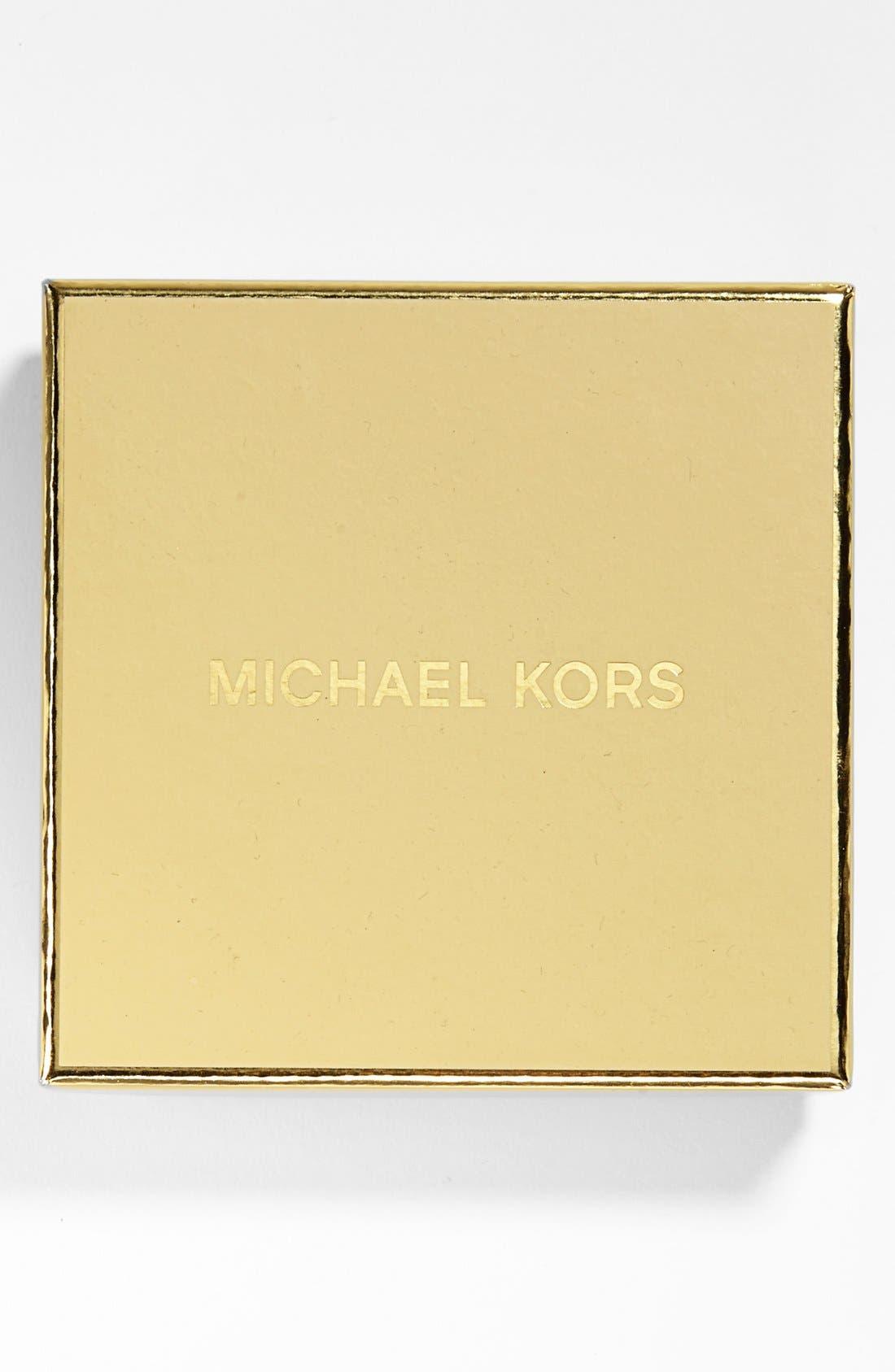 Alternate Image 2  - Michael Kors Boxed Square Crystal Hinge Bangle