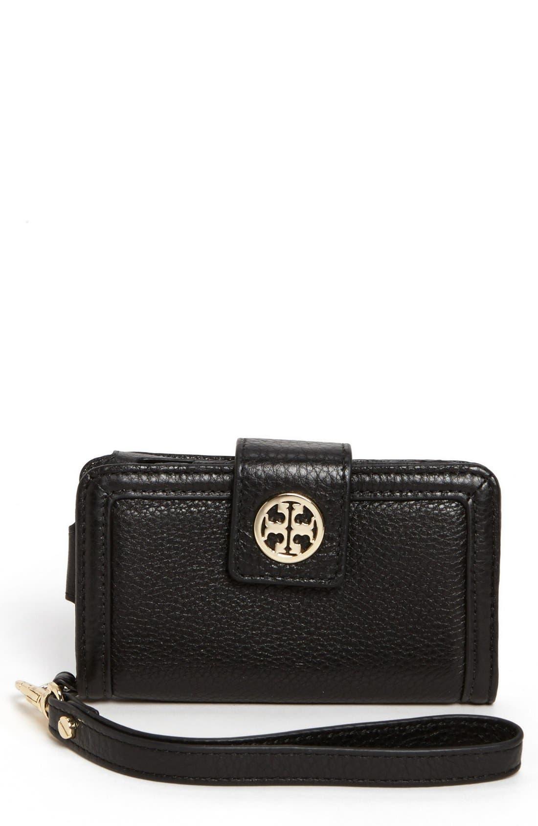 Alternate Image 1 Selected - Tory Burch 'Amanda' Smartphone Wallet