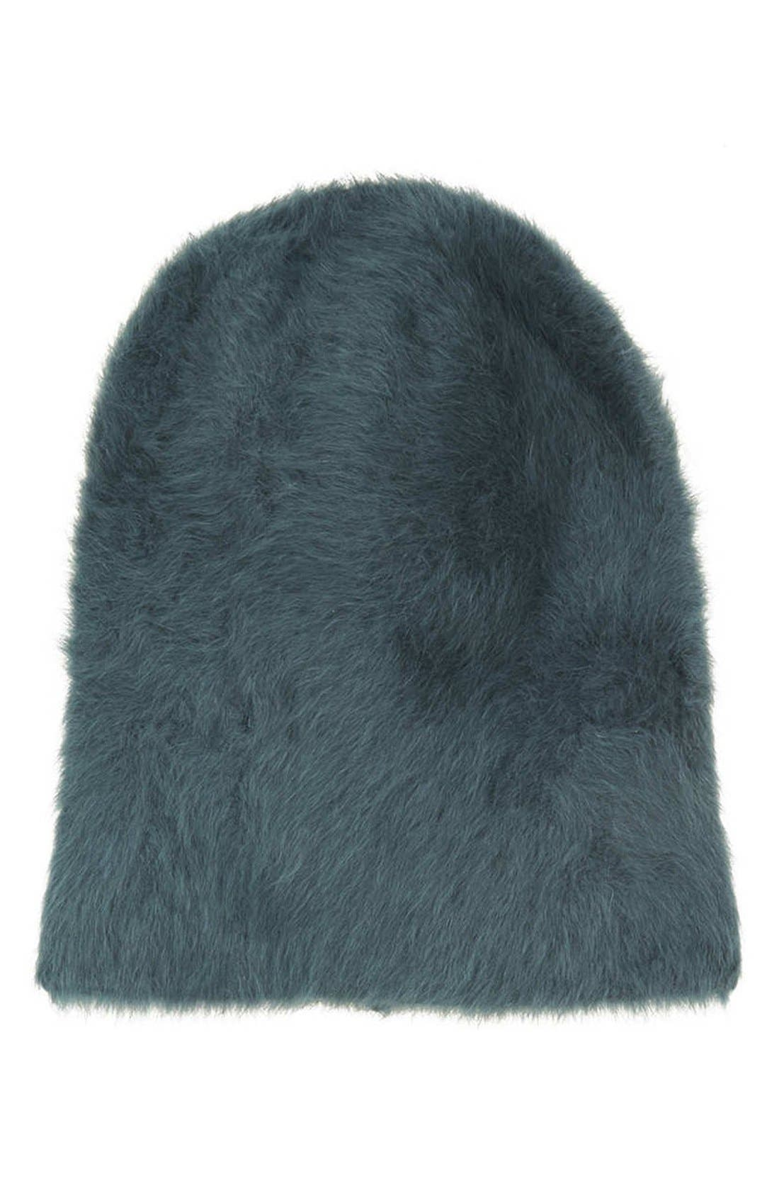 Alternate Image 1 Selected - Topshop Angora Beanie