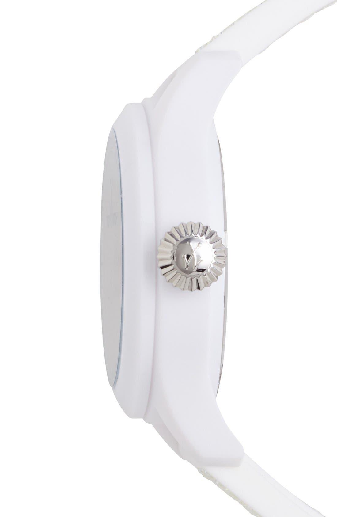Alternate Image 3  - TOYWATCH 'Glitter' Silicone Strap Watch, 38mm