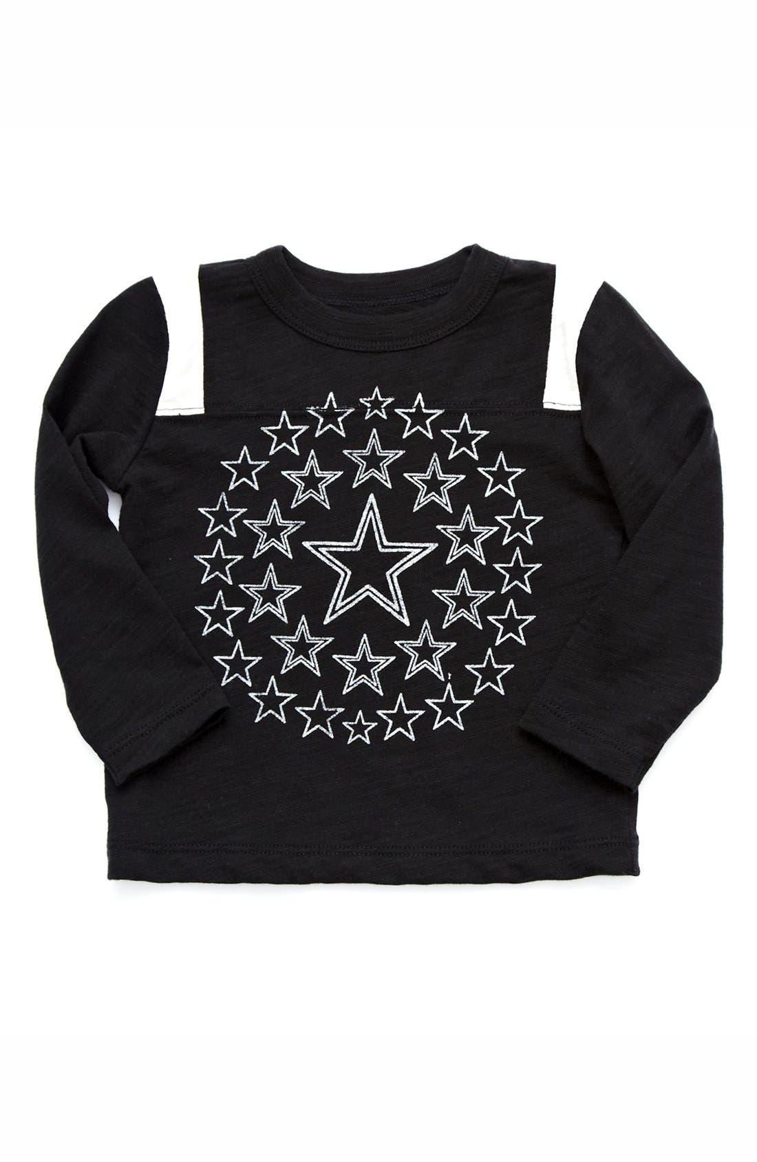 Alternate Image 1 Selected - Peek 'Stars' Long Sleeve T-Shirt (Baby Boys)