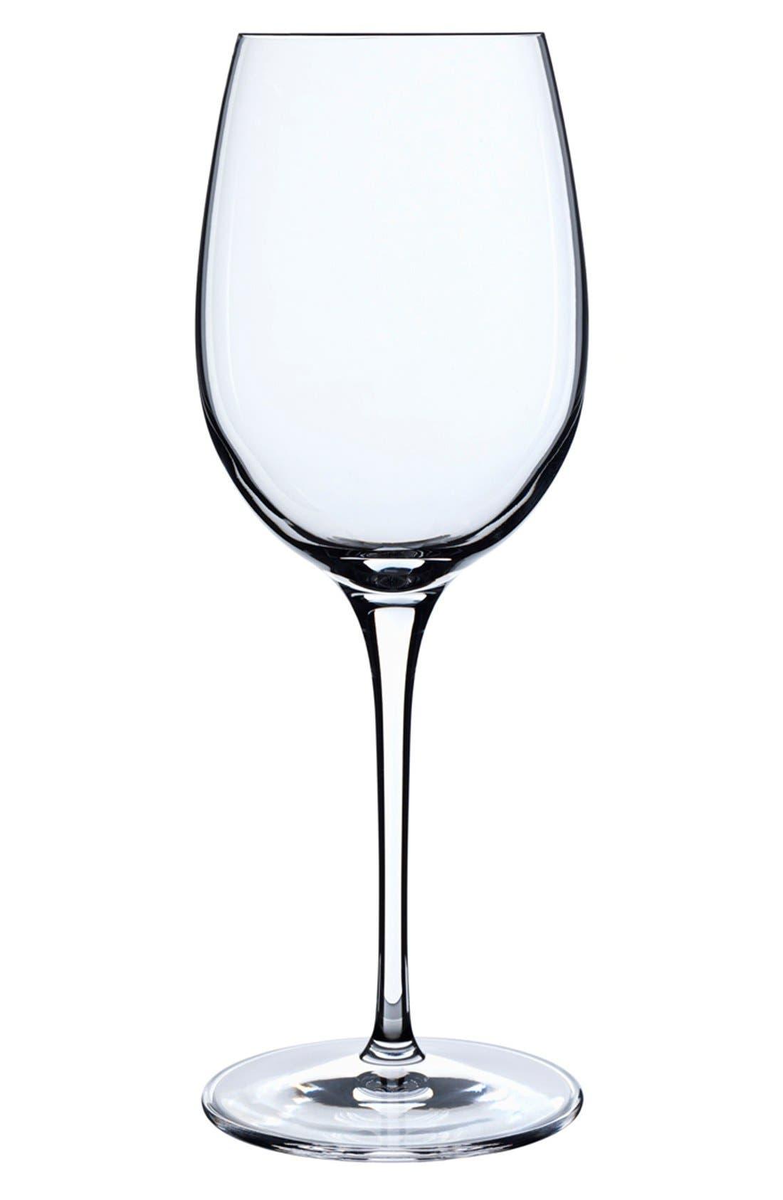 Crescendo Set of 4 Chardonnay Glasses,                         Main,                         color, Clear