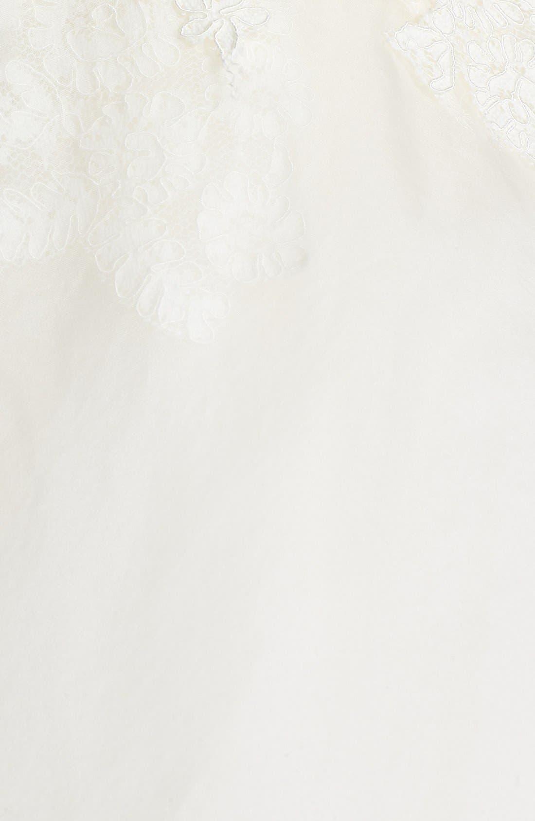 Alternate Image 3  - Hayley Paige 'Mila' Strapless Silk Organza Wedding Dress (In Stores Only)