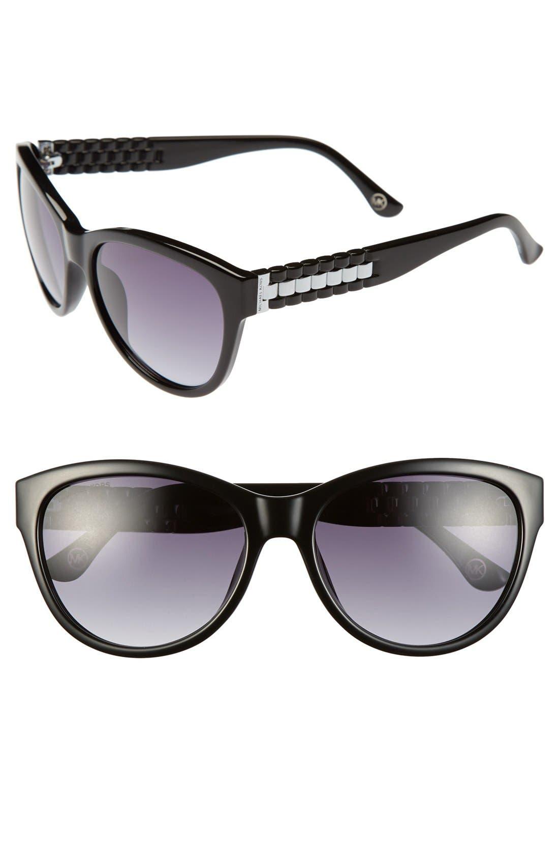Alternate Image 1 Selected - MICHAEL Michael Kors 'Olivia' 57mm Sunglasses