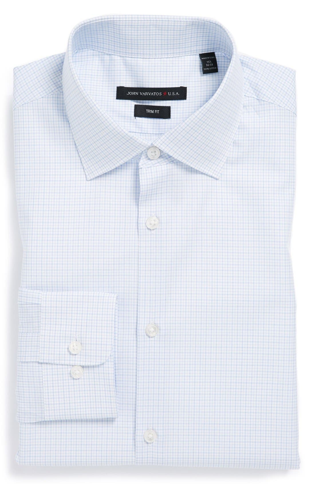Main Image - John Varvatos Star USA Trim Fit Dress Shirt