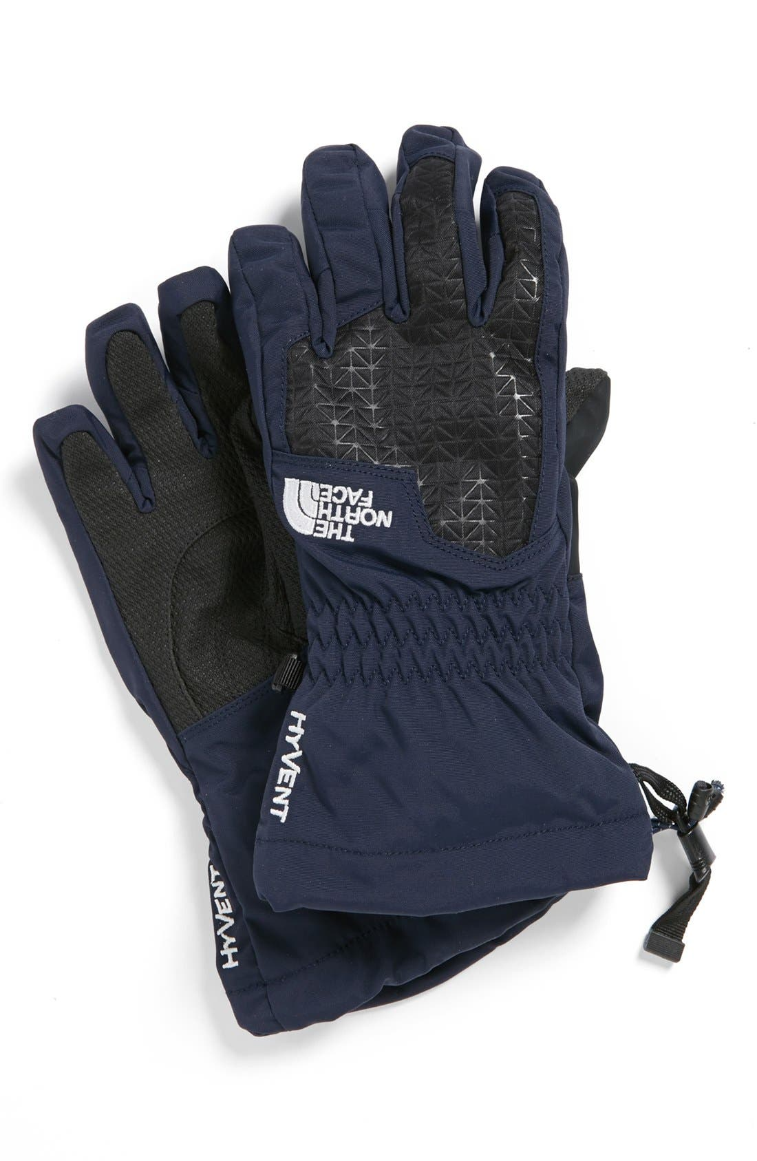 Alternate Image 1 Selected - The North Face 'Montana' Waterproof Gloves (Boys)