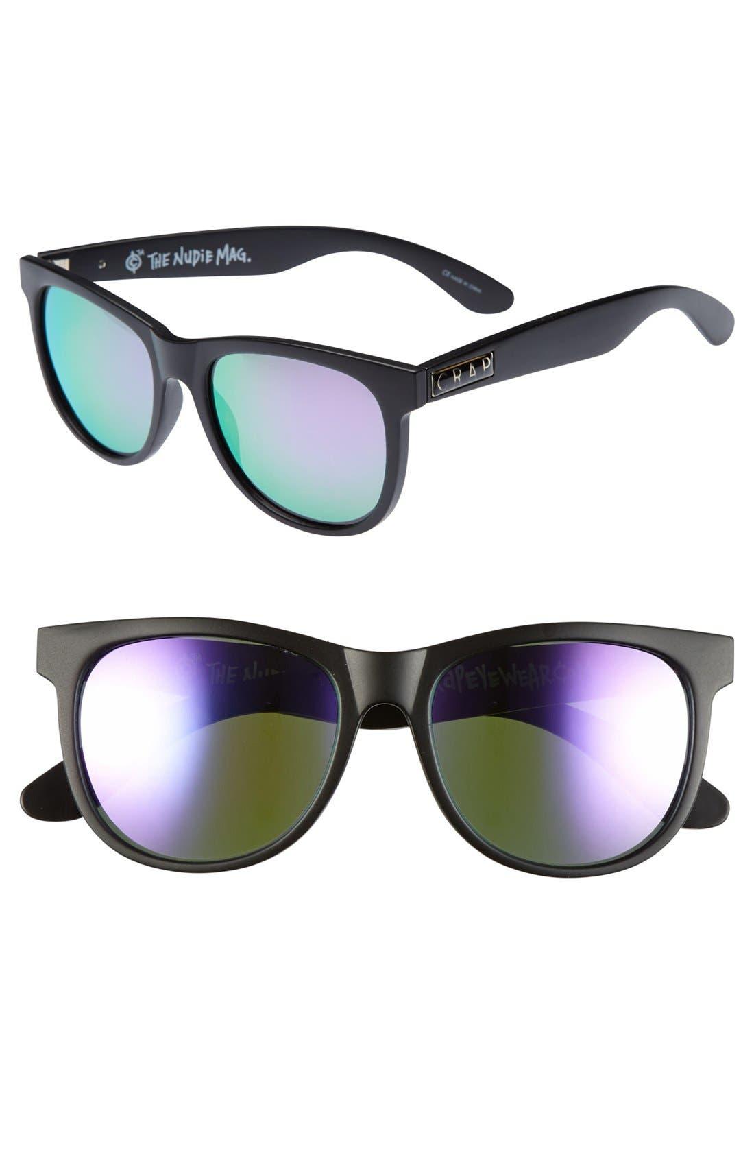 Main Image - CRAP Eyewear 'Nudie Mag' 55mm Sunglasses