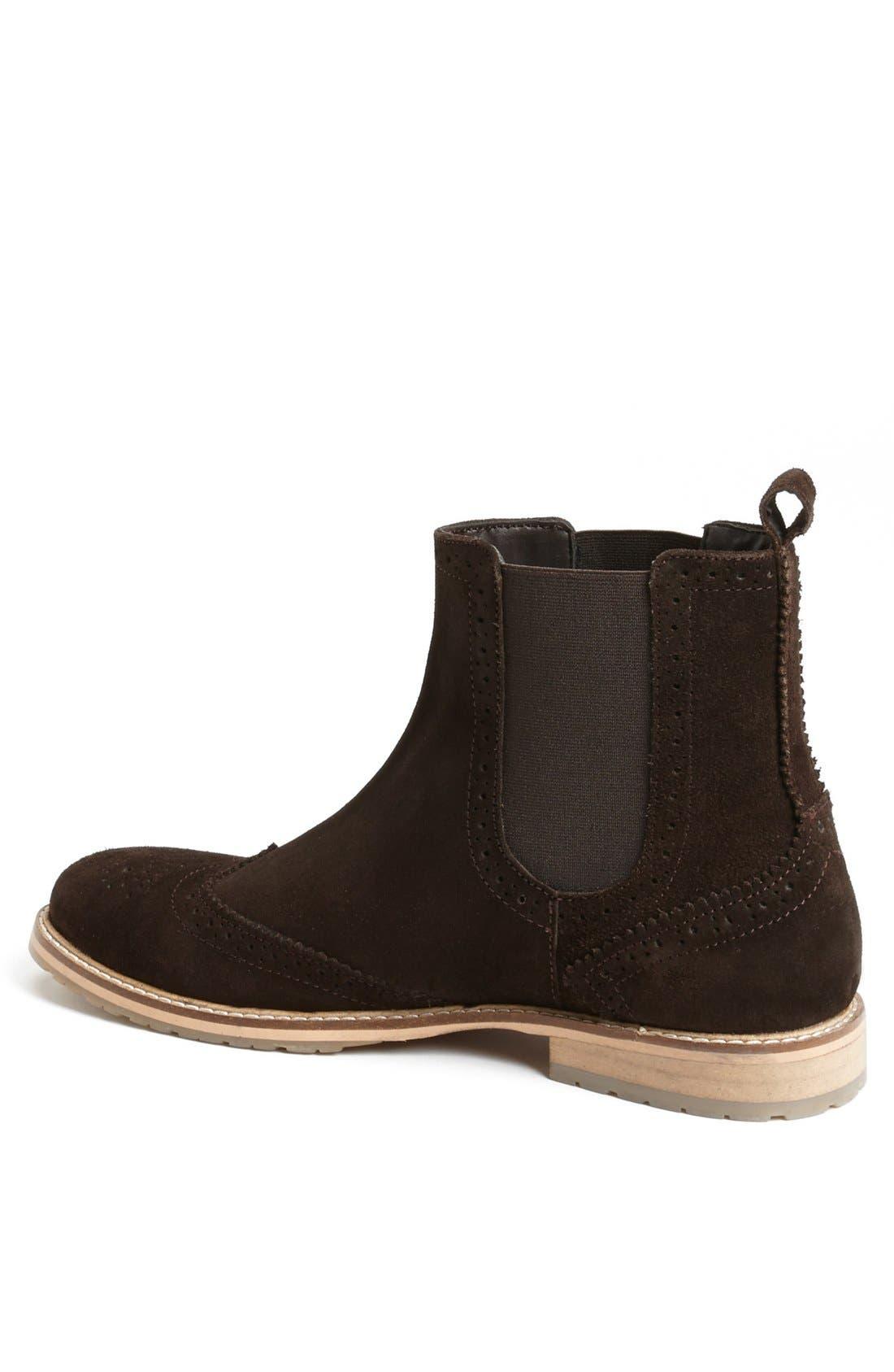 Alternate Image 2  - Ben Sherman 'Bruno' Wingtip Chelsea Boot (Men)