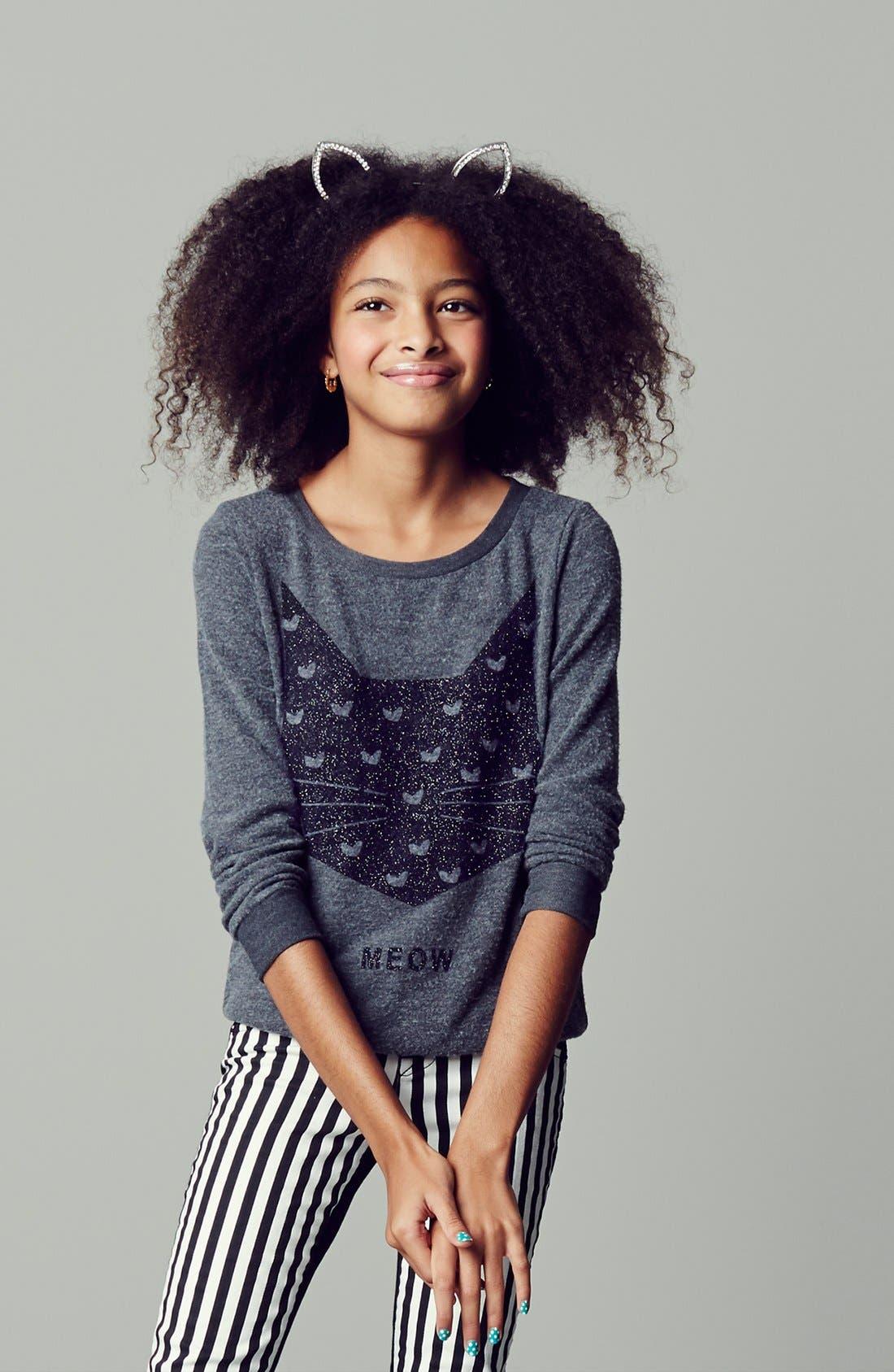 Alternate Image 3  - Hudson Kids 'Collin' Skinny Jeans (Vice Versa) (Big Girls)