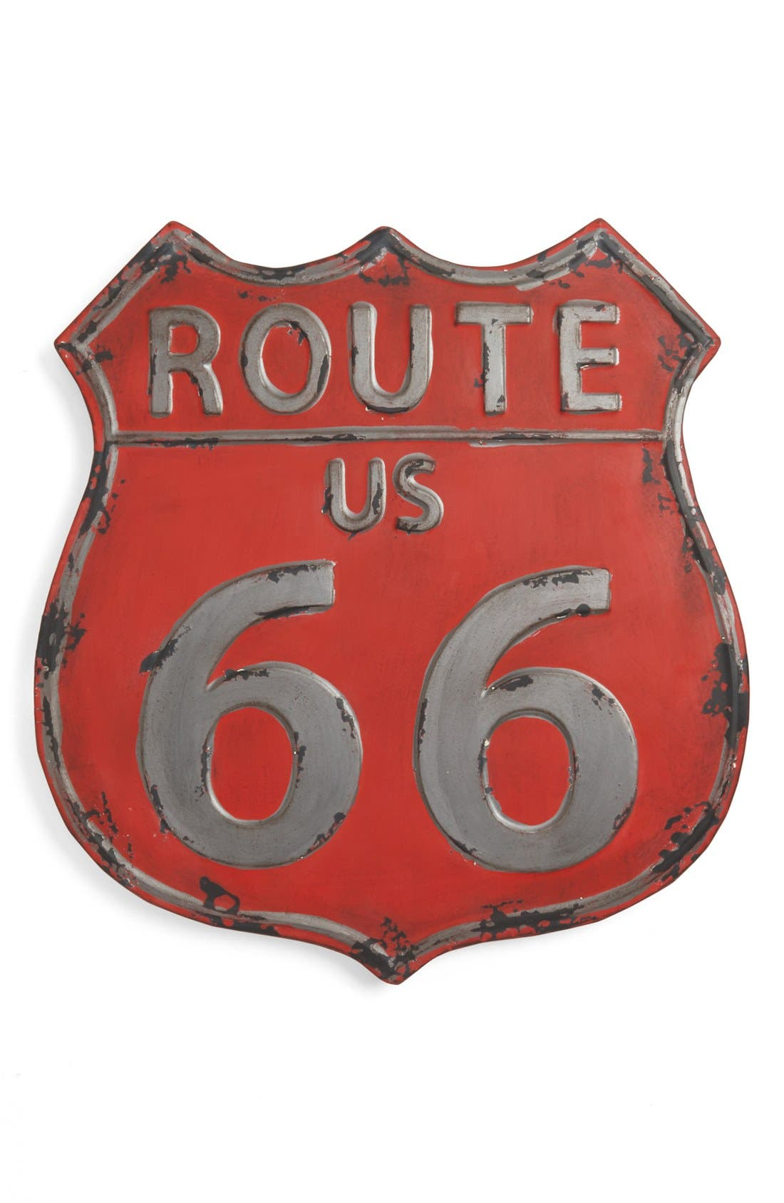Alternate Image 1 Selected - Torre & Tagus 'Vintage Route 66' Metal Wall Art