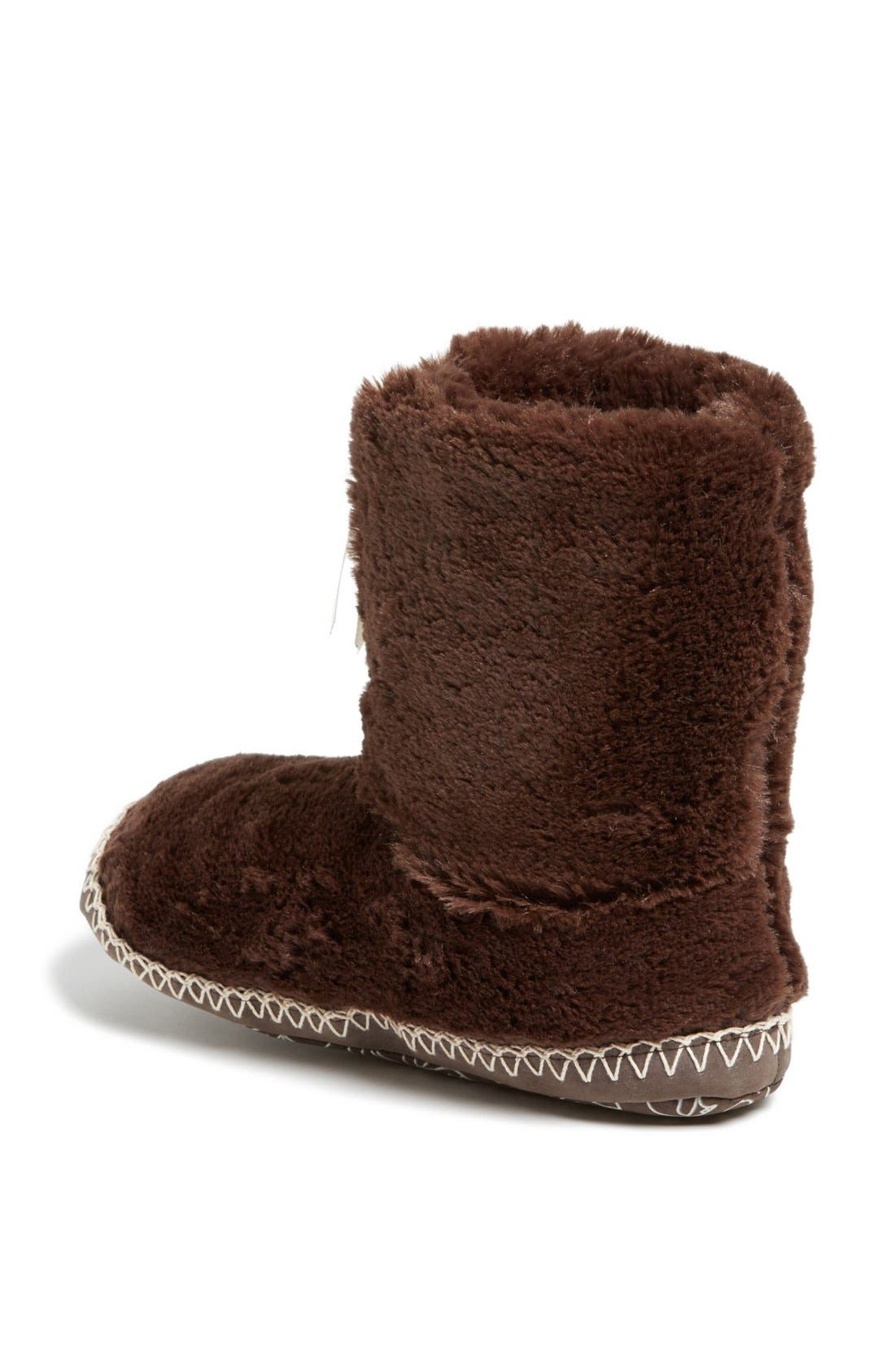 Alternate Image 2  - Bedroom Athletics 'Marilyn' Faux Fur Bootie Slipper