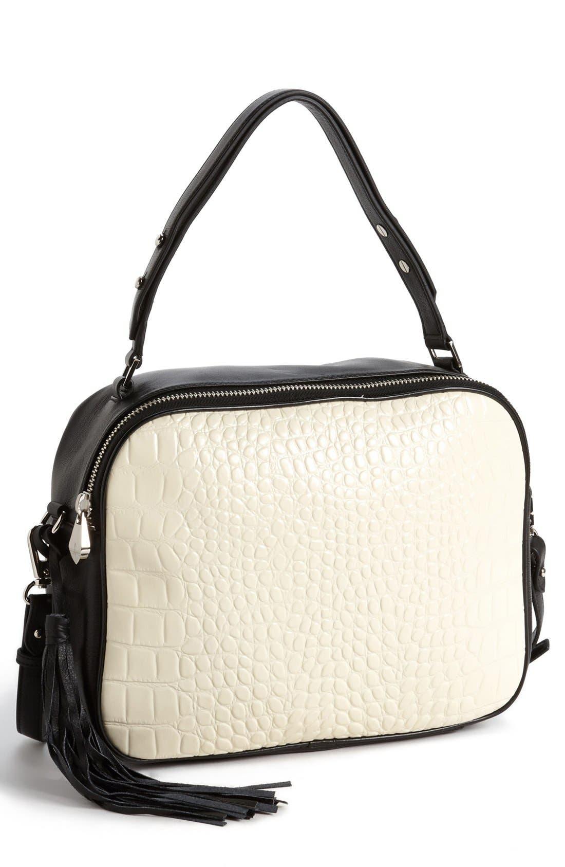 Alternate Image 1 Selected - Pour la Victoire 'Nora' Leather Crossbody Bag