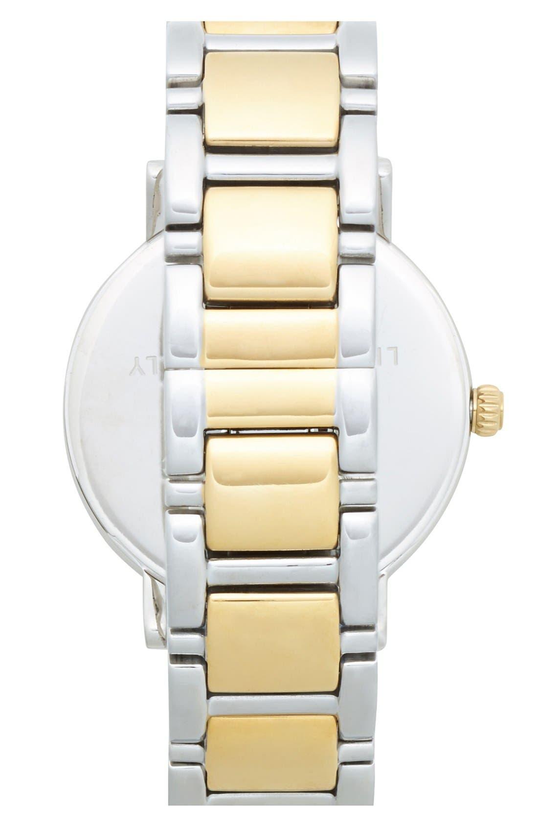 Alternate Image 2  - kate spade new york 'gramercy' bracelet watch, 34mm