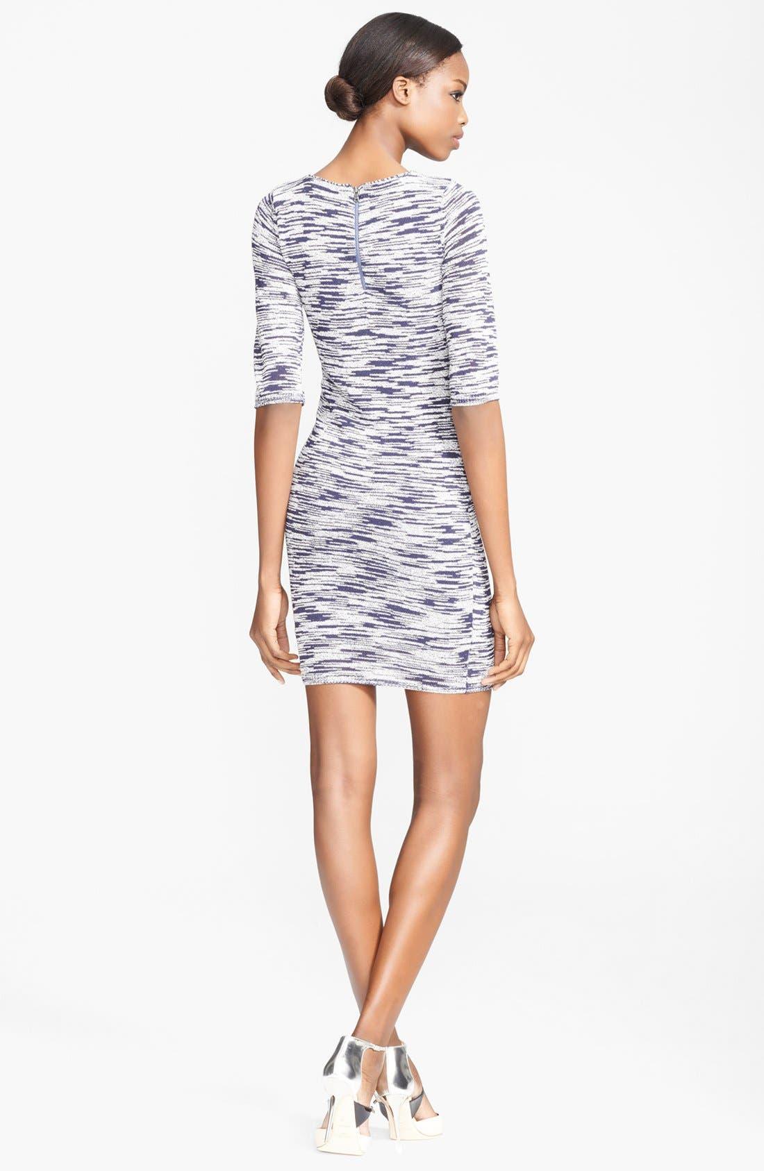 Alternate Image 2  - Alice + Olivia Textured Sweater Dress