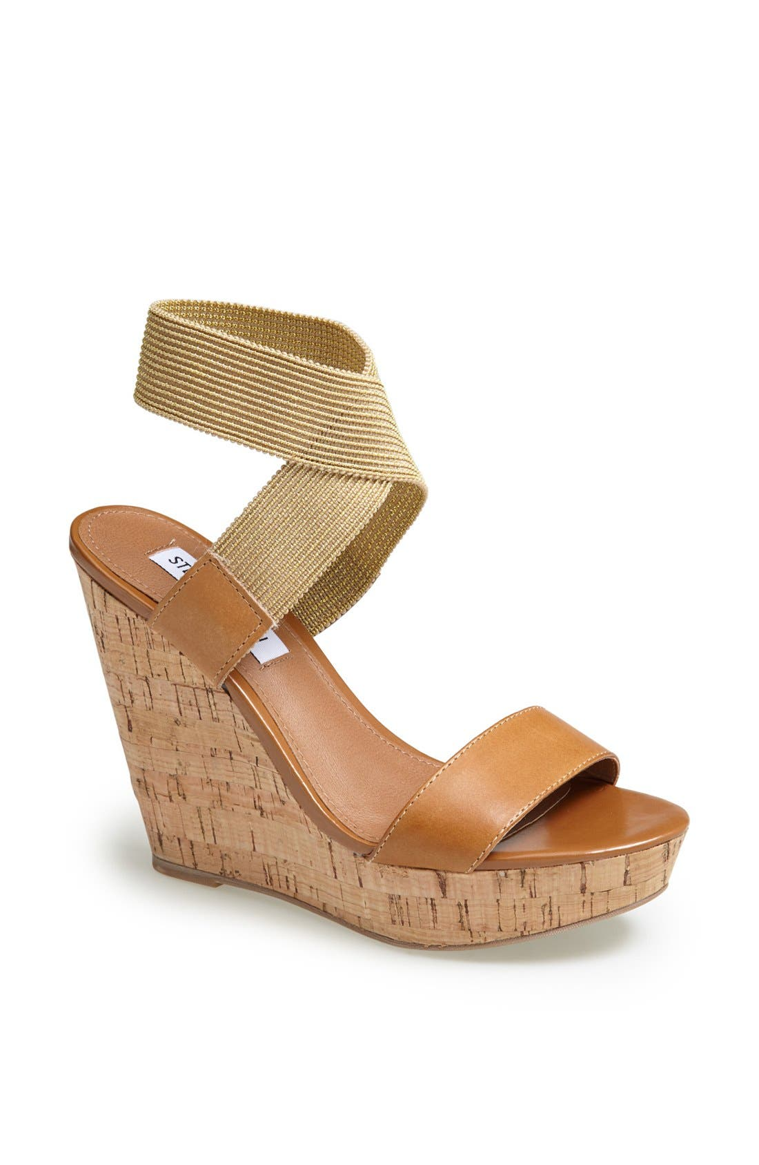 Alternate Image 1 Selected - Steve Madden 'Roperr' Wedge Sandal